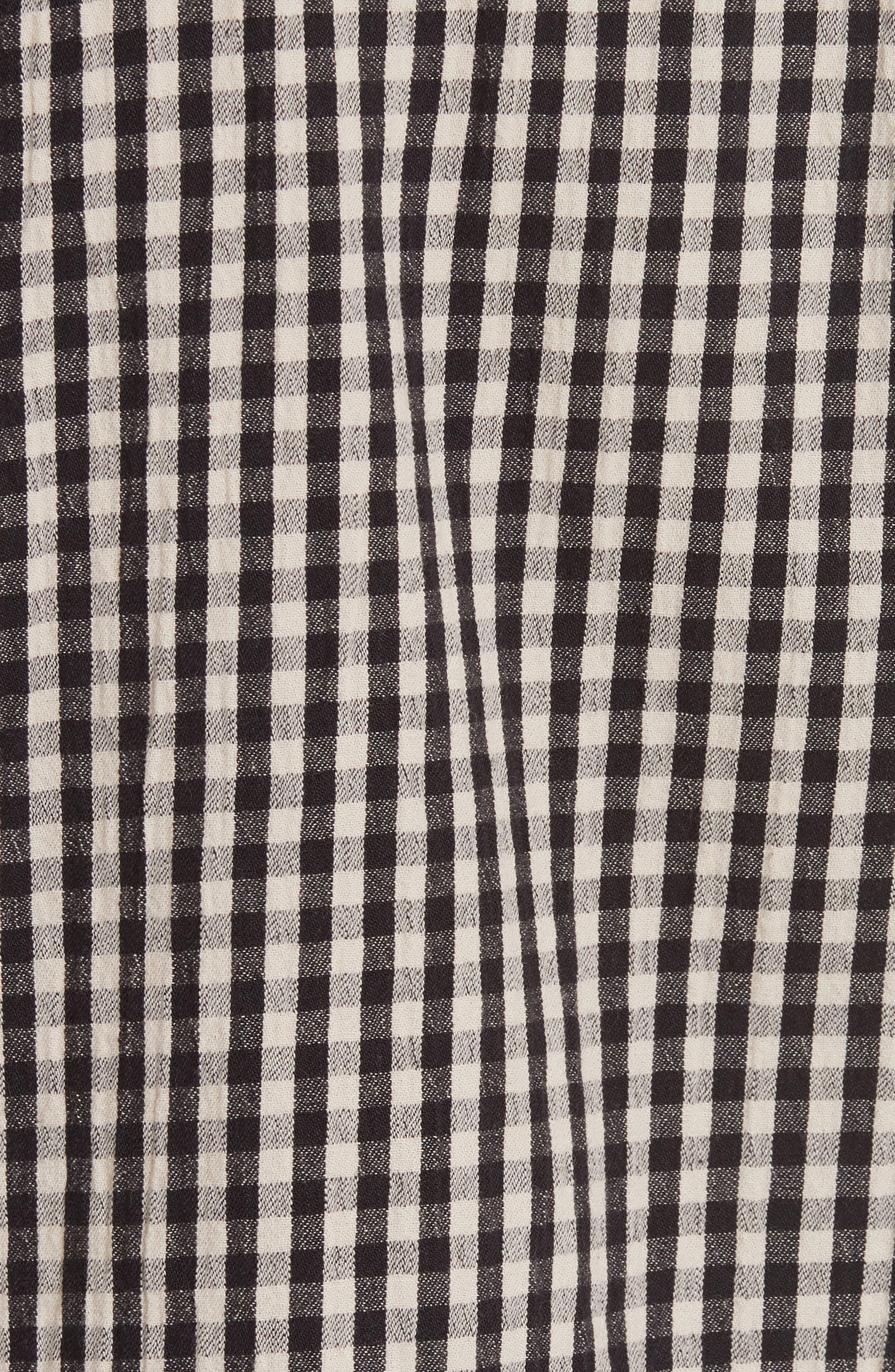 Gingham Check Shirt,                             Alternate thumbnail 5, color,