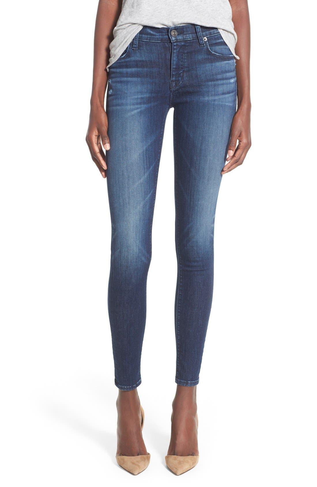 'Nico' Super Skinny Jeans,                             Main thumbnail 2, color,
