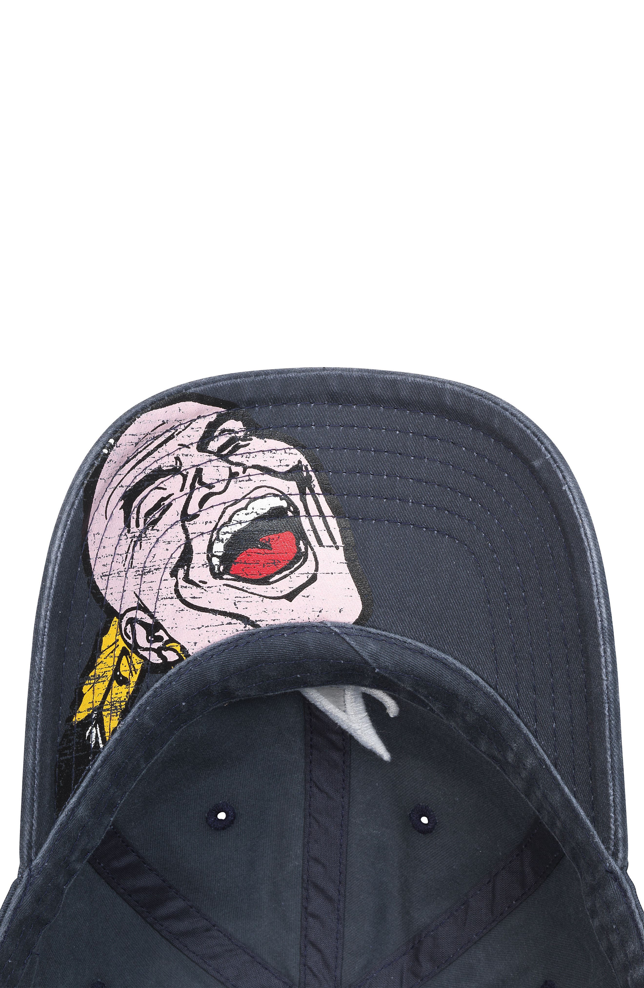 New Raglan - Atlanta Braves Baseball Cap,                             Alternate thumbnail 2, color,                             400