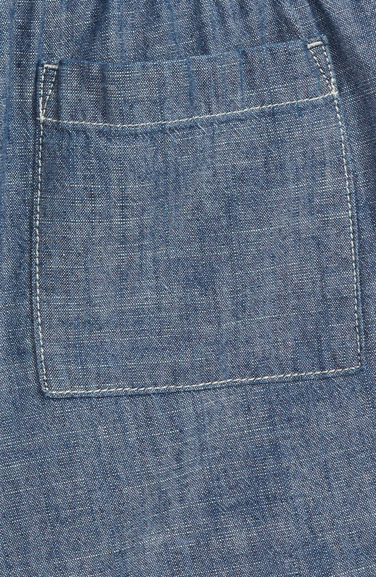 CREWCUTS BY J.CREW,                             Dock Chambray Shorts,                             Alternate thumbnail 3, color,                             400