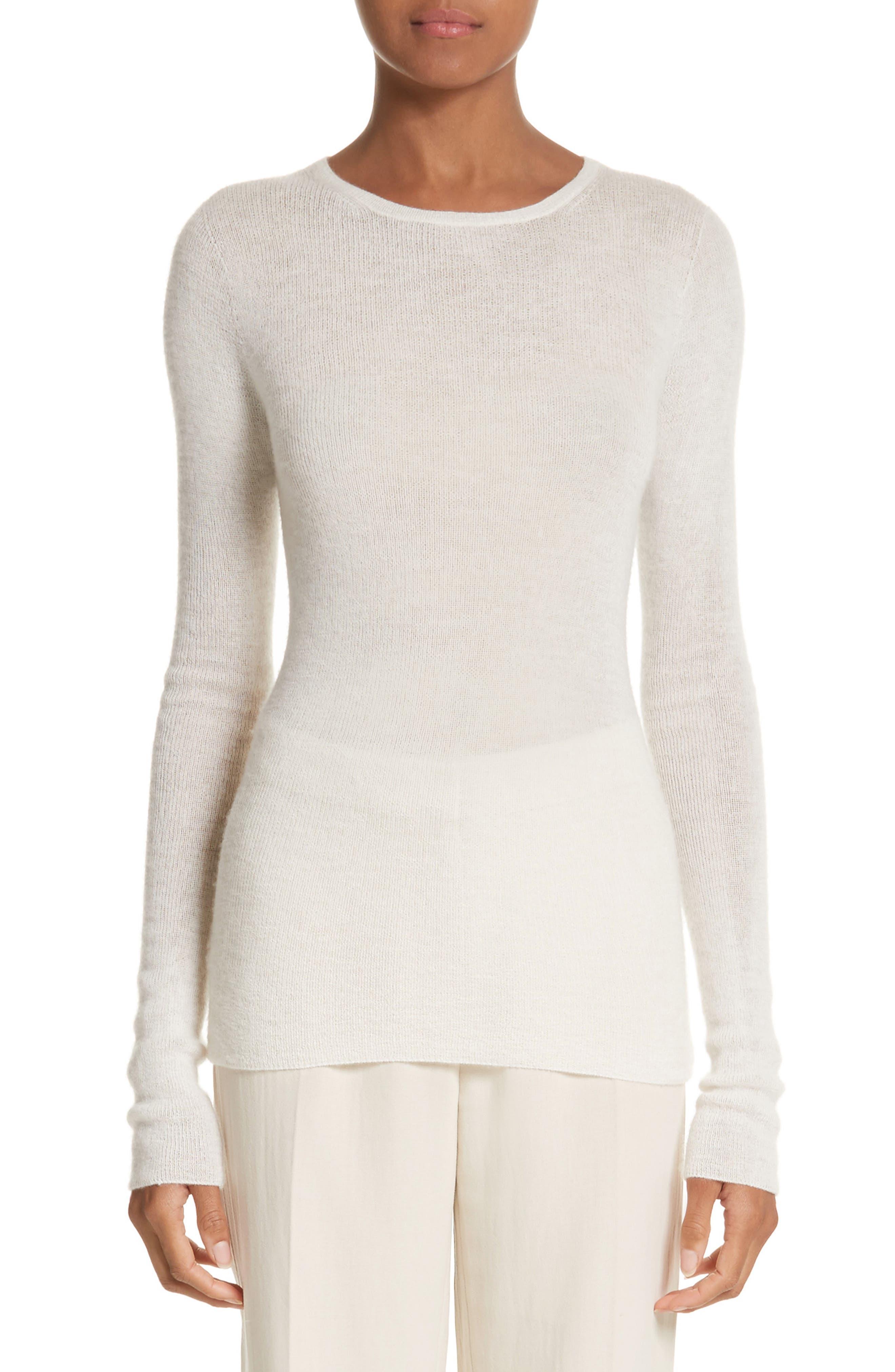 MAX MARA Cabaret Cashmere Sweater, Main, color, 110