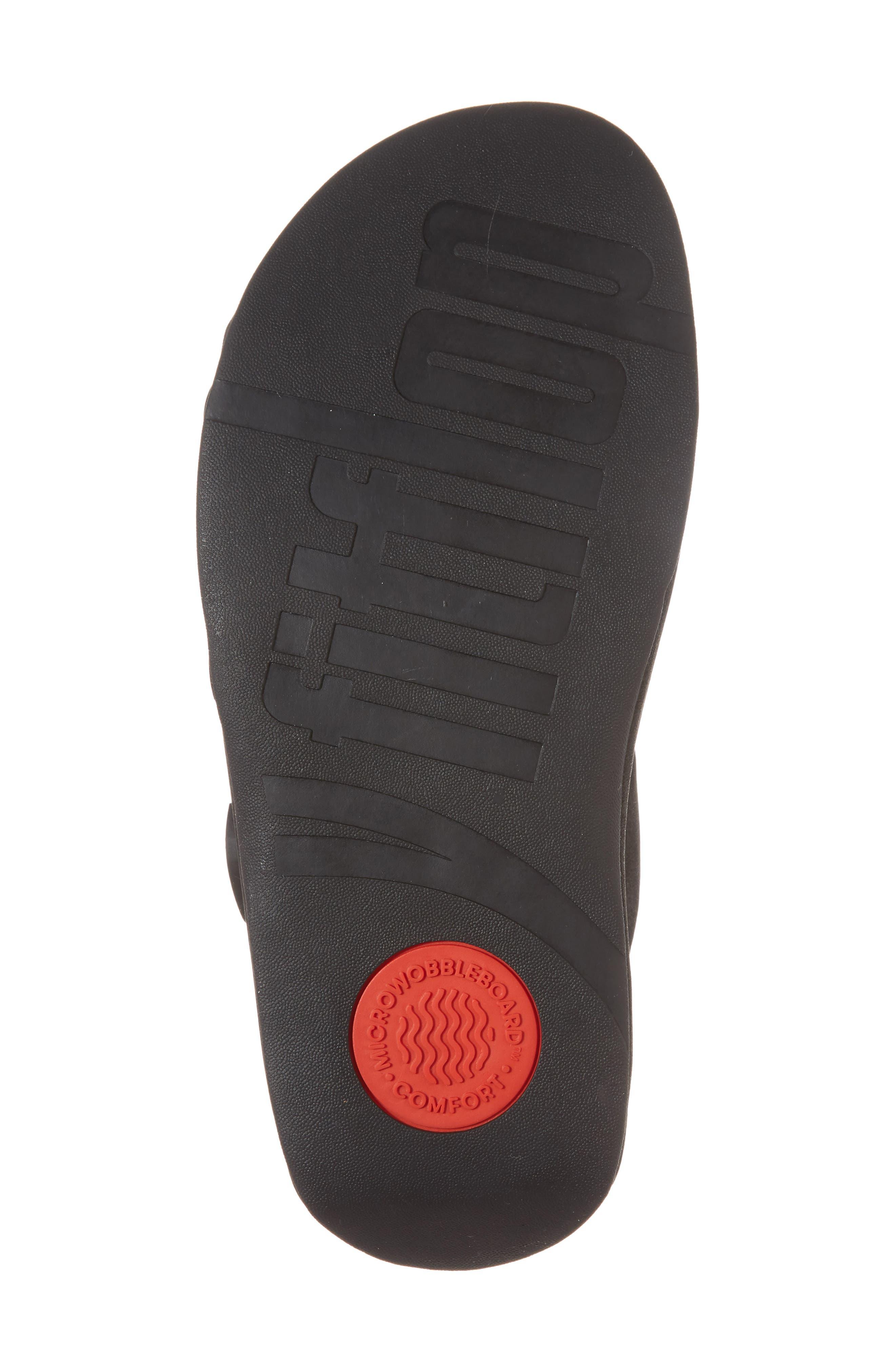 Gogh Sport Slide Sandal,                             Alternate thumbnail 6, color,                             BLACK