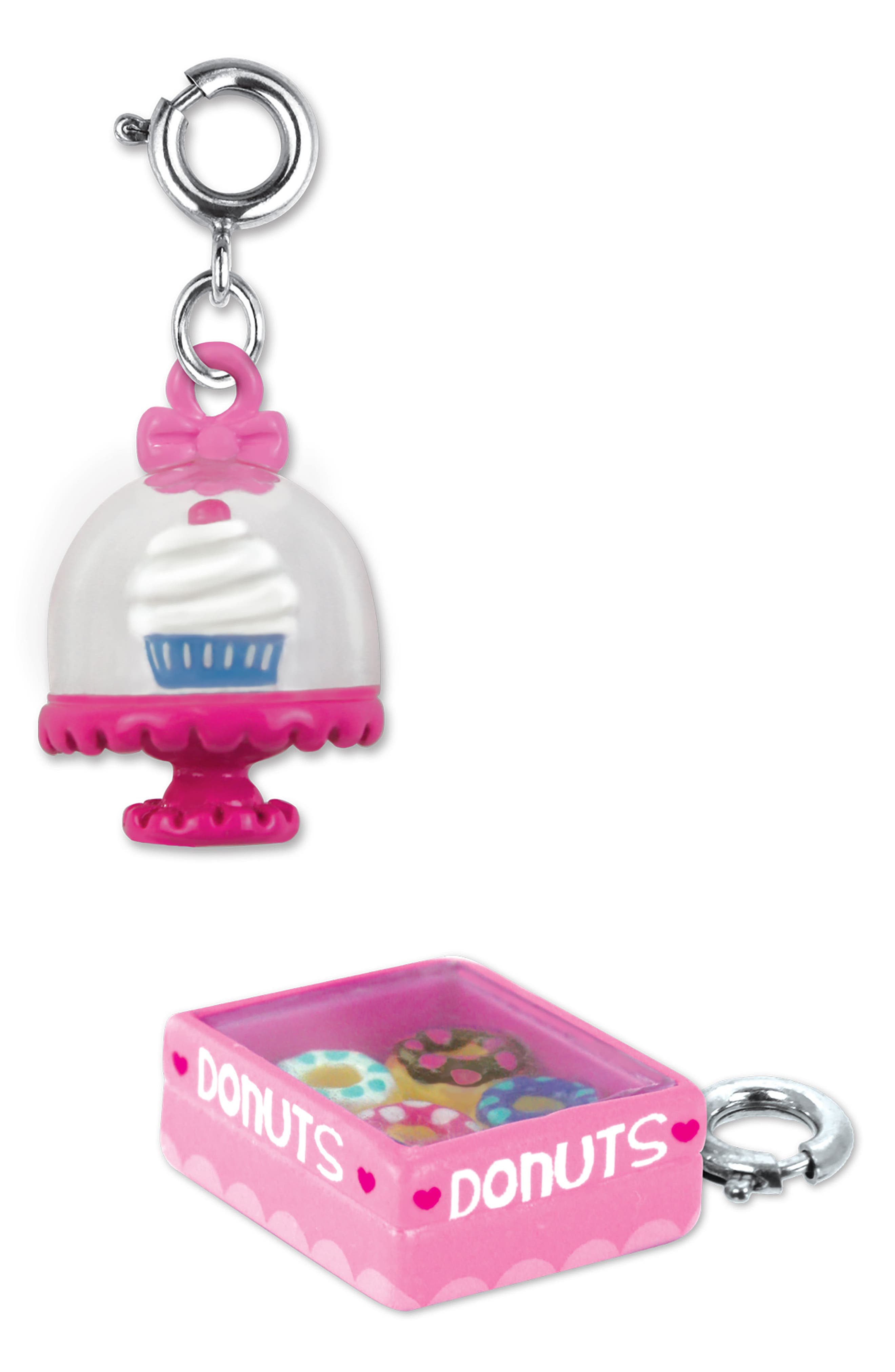 CHARM IT!<sup>®</sup> 2-Pack Cupcake & Donut Charms,                             Alternate thumbnail 2, color,                             MULTI