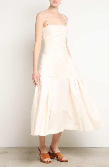 La Robe Limao Linen & Cotton Trumpet Dress, video thumbnail