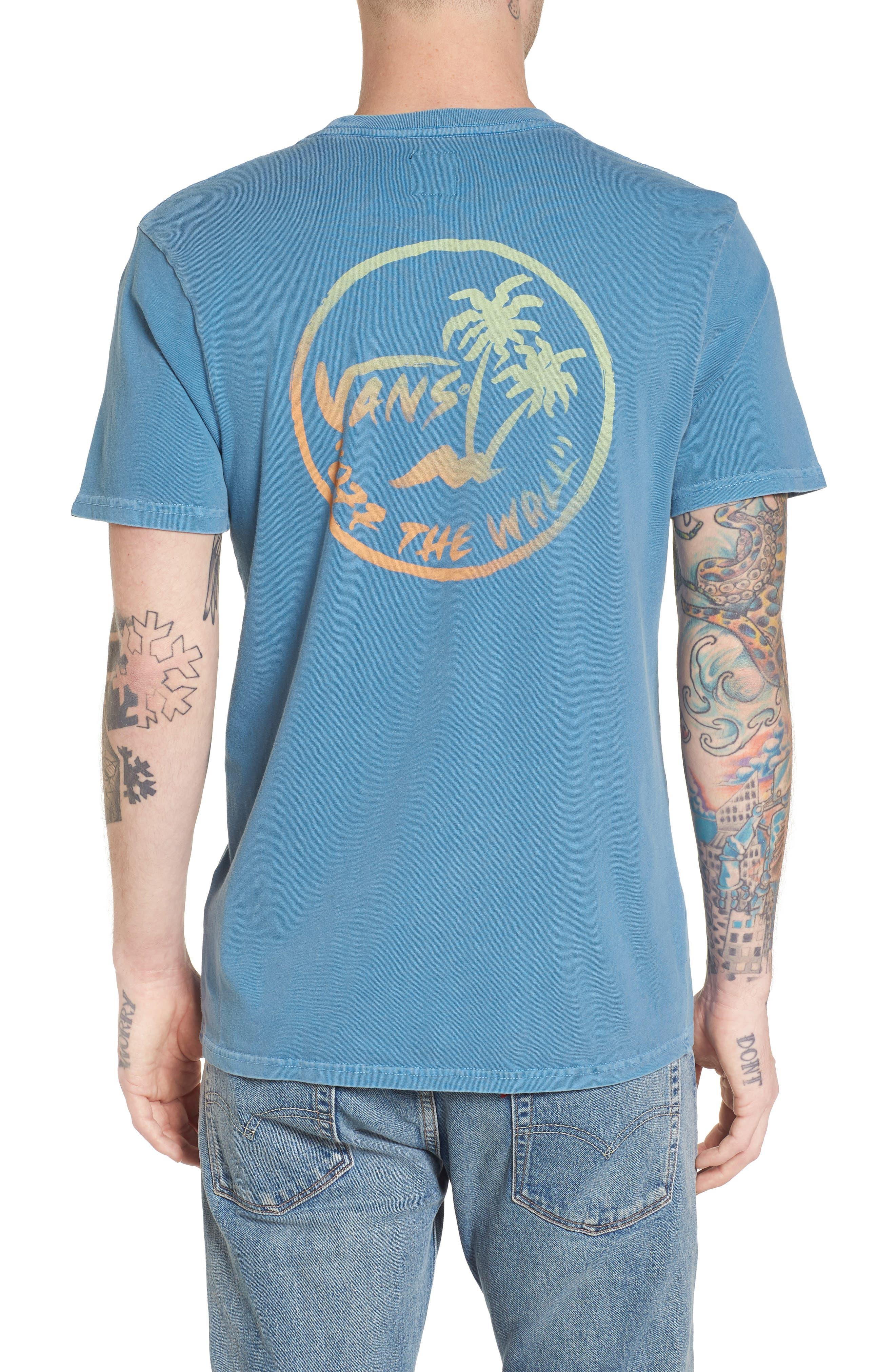 Vintage Palm Graphic T-Shirt,                             Alternate thumbnail 2, color,                             420