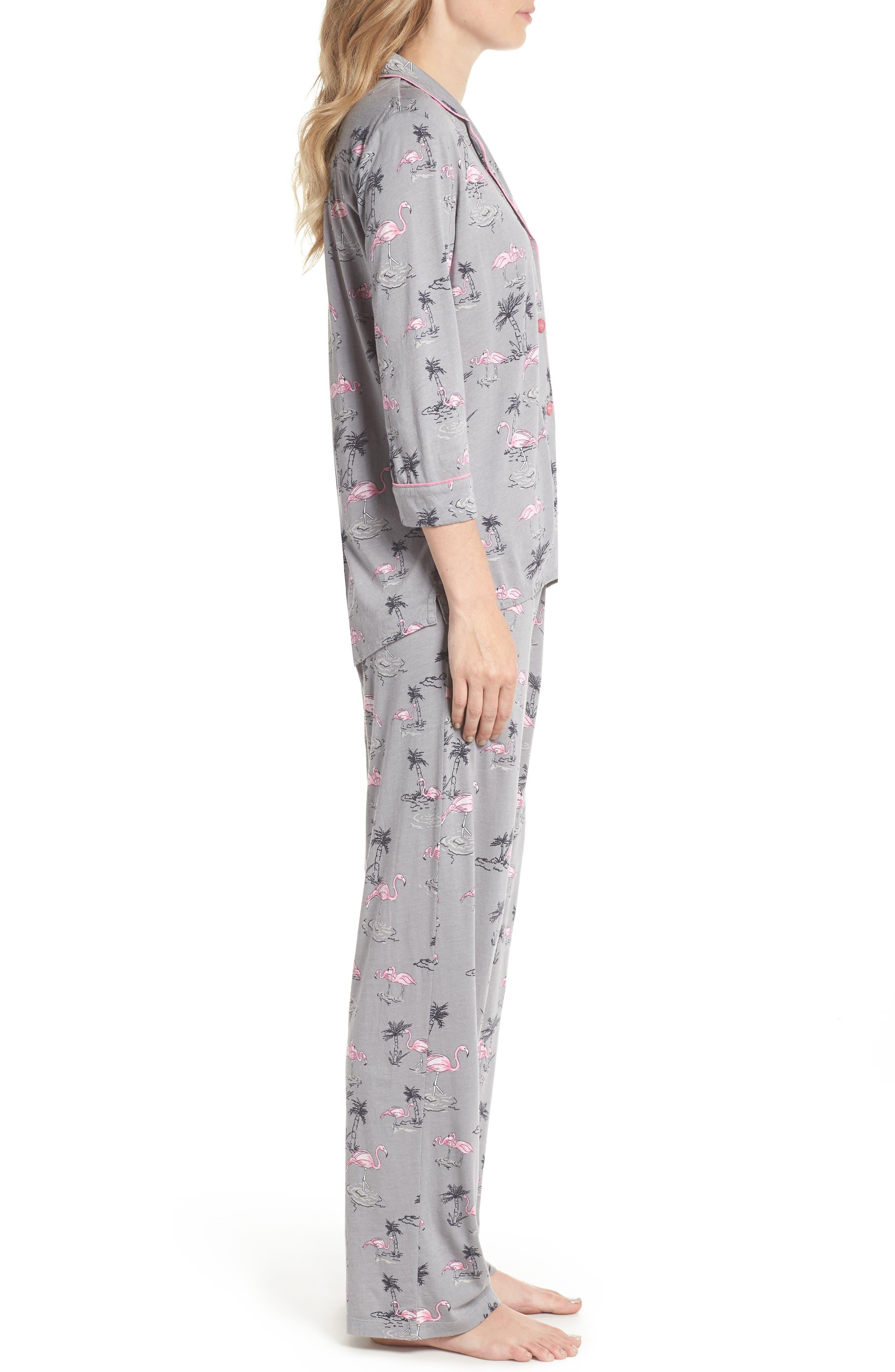 Print Pajamas & Eye Mask,                             Alternate thumbnail 3, color,                             024