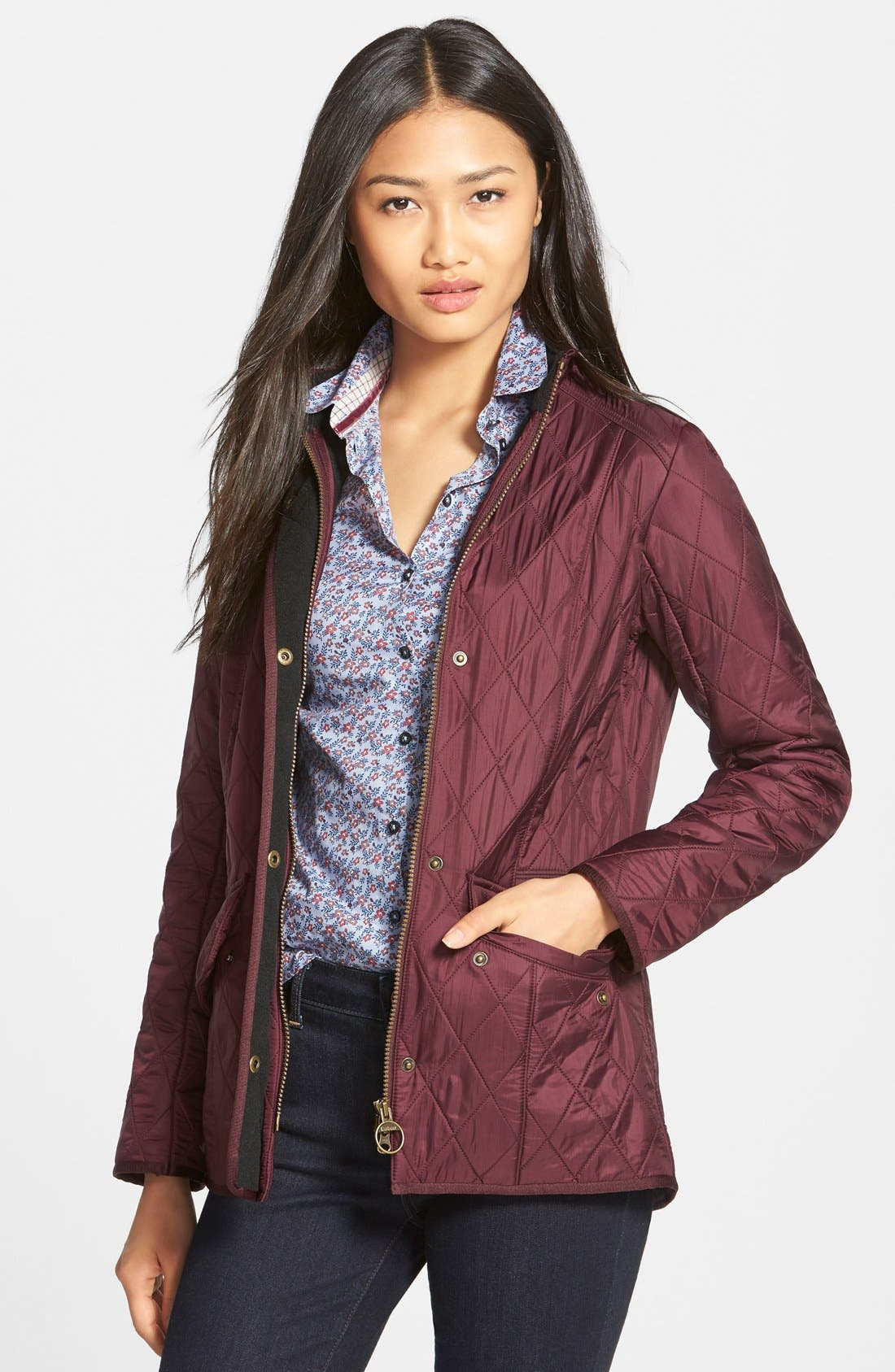 'Cavalry' Quilted Jacket,                             Main thumbnail 13, color,