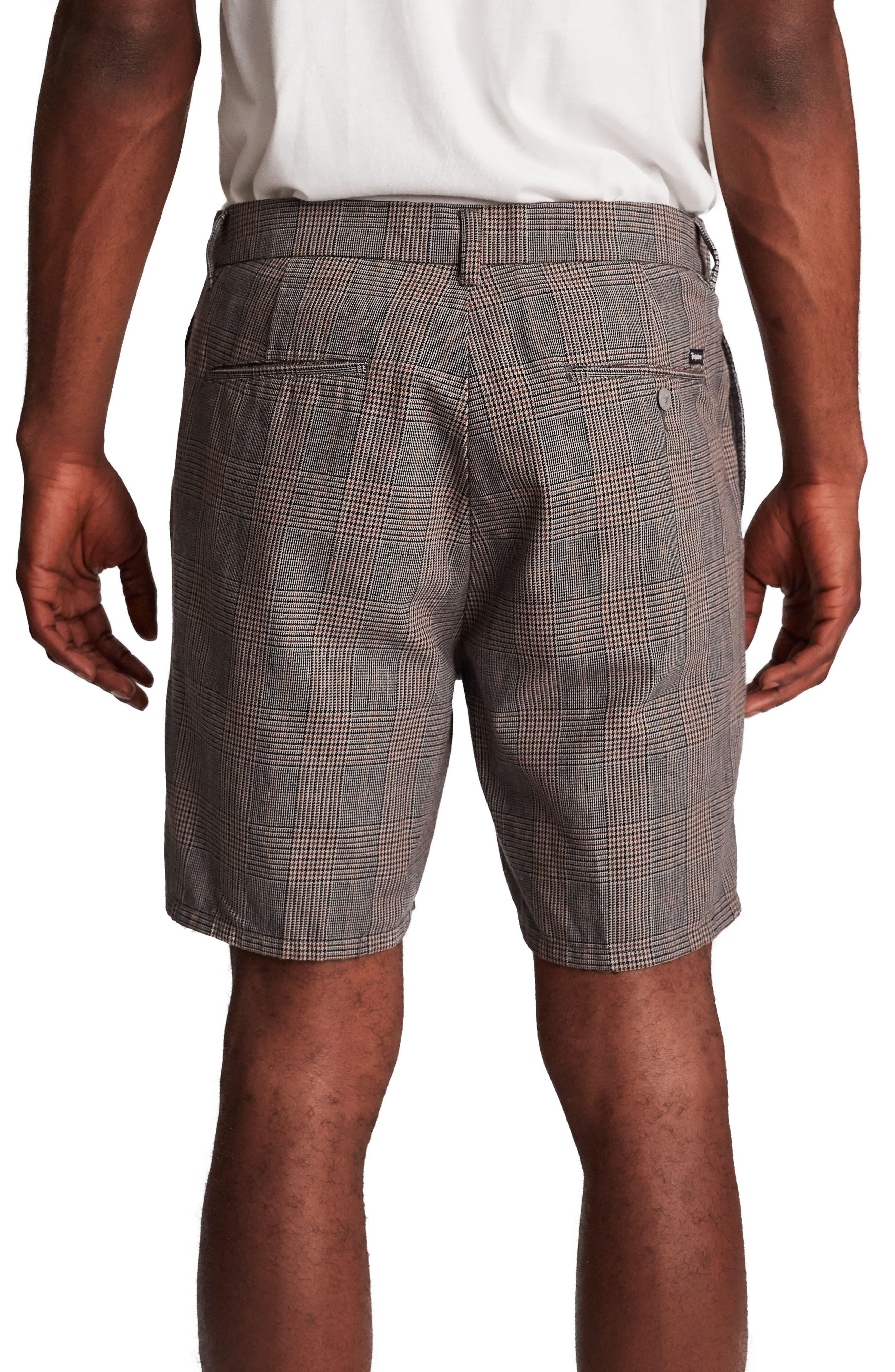 Graduate Slack Shorts,                             Alternate thumbnail 2, color,                             GREY PLAID