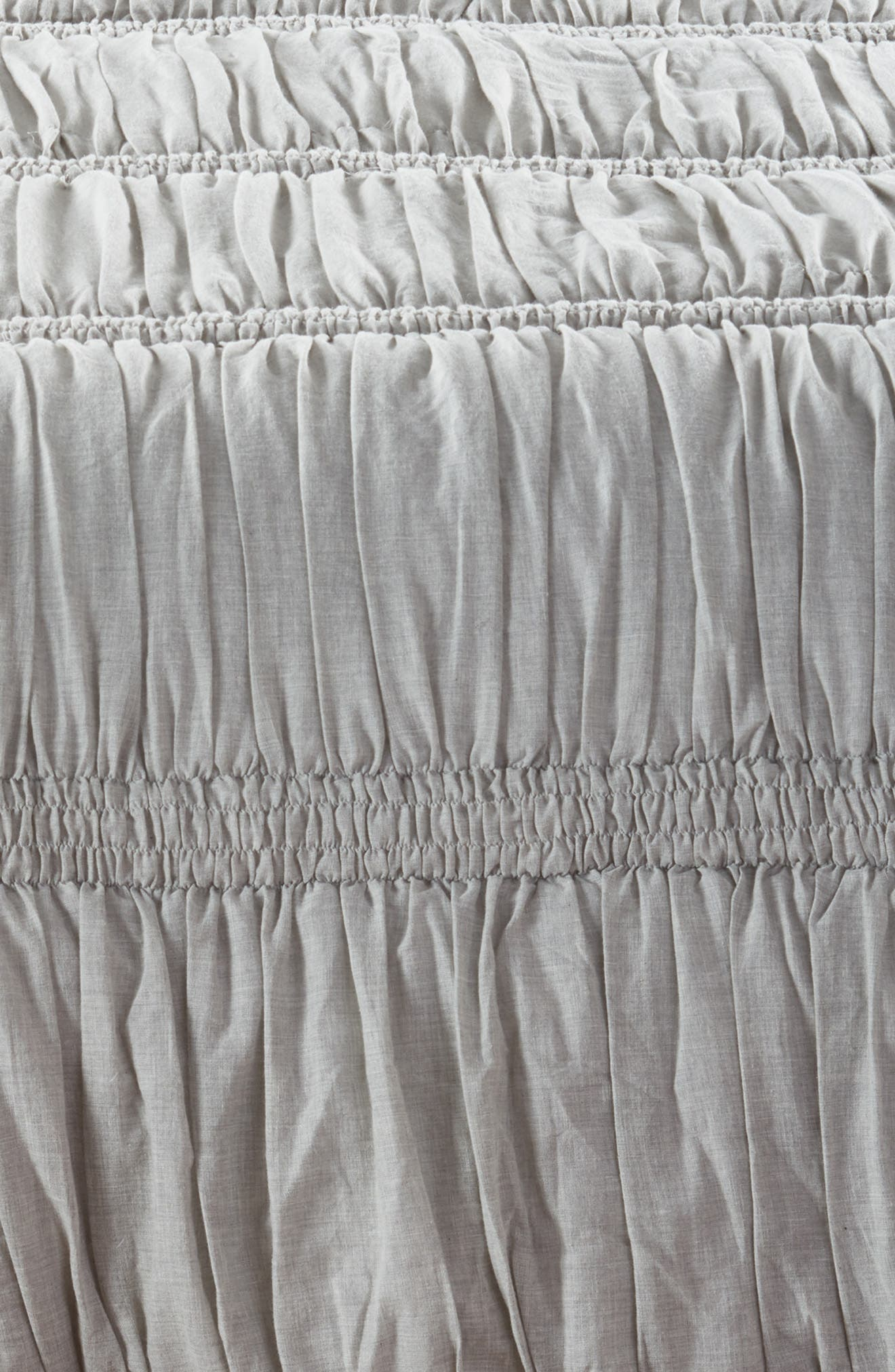 Heathered Ruched Comforter,                             Alternate thumbnail 2, color,                             020
