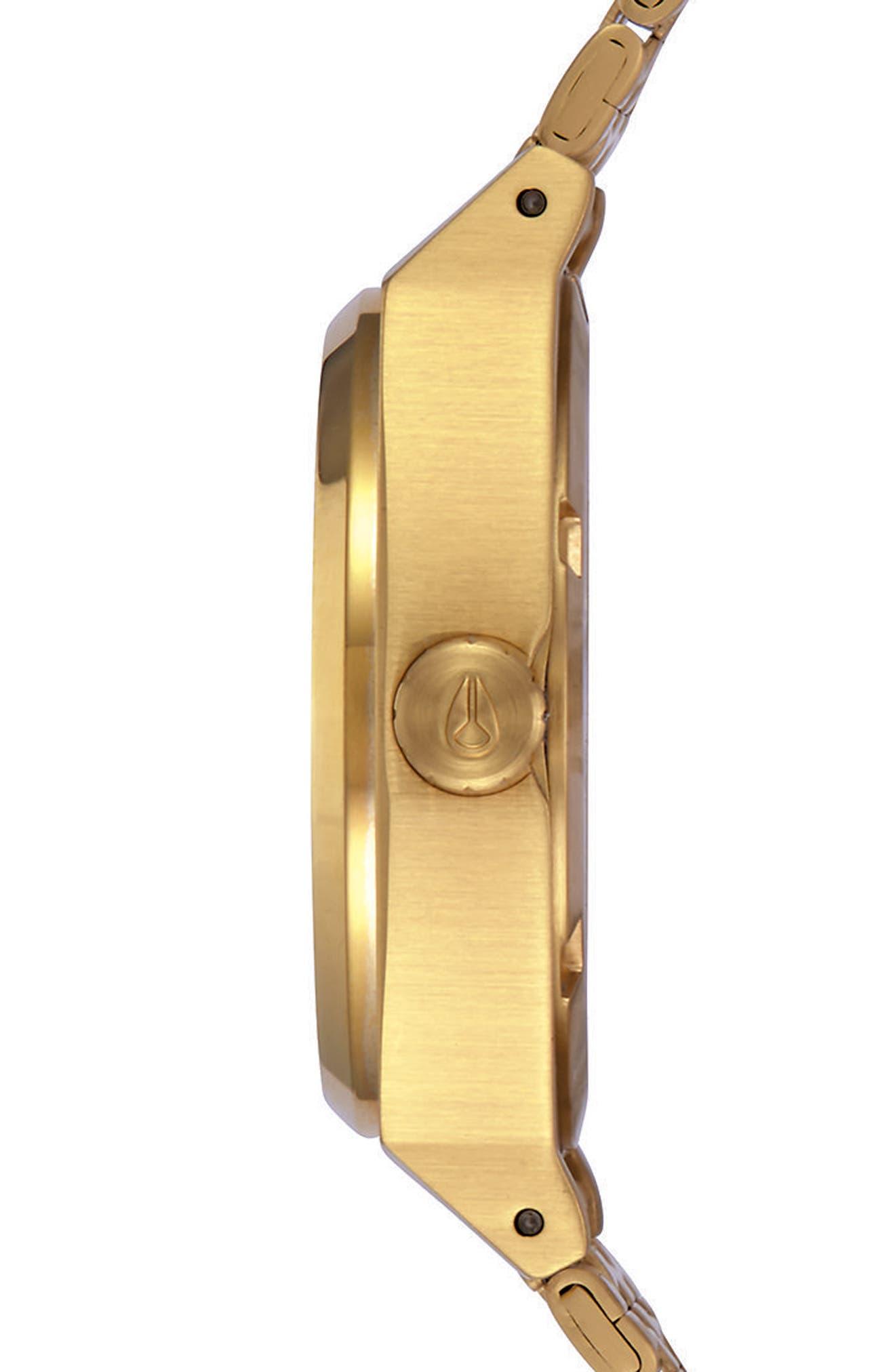 Time Teller Bracelet Watch, 31mm,                             Alternate thumbnail 3, color,                             GOLD