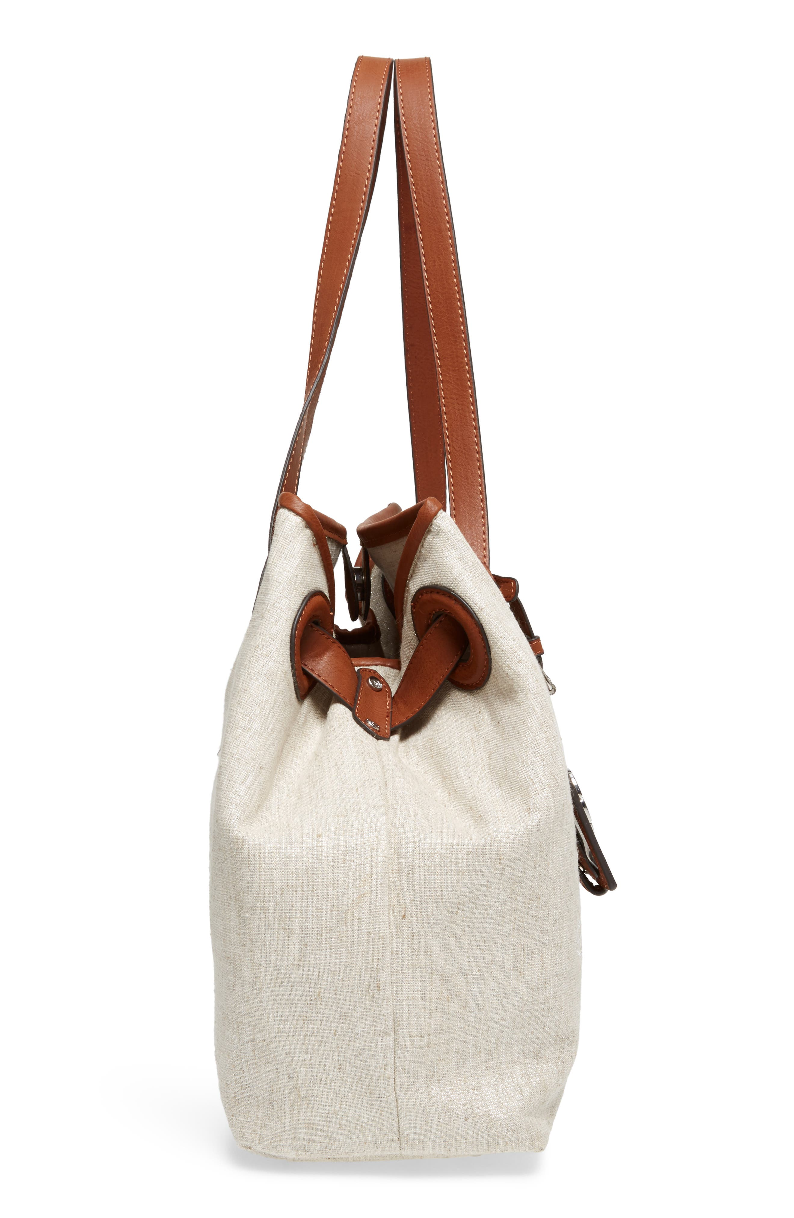 Waikiki Embroidered Canvas Tote,                             Alternate thumbnail 13, color,