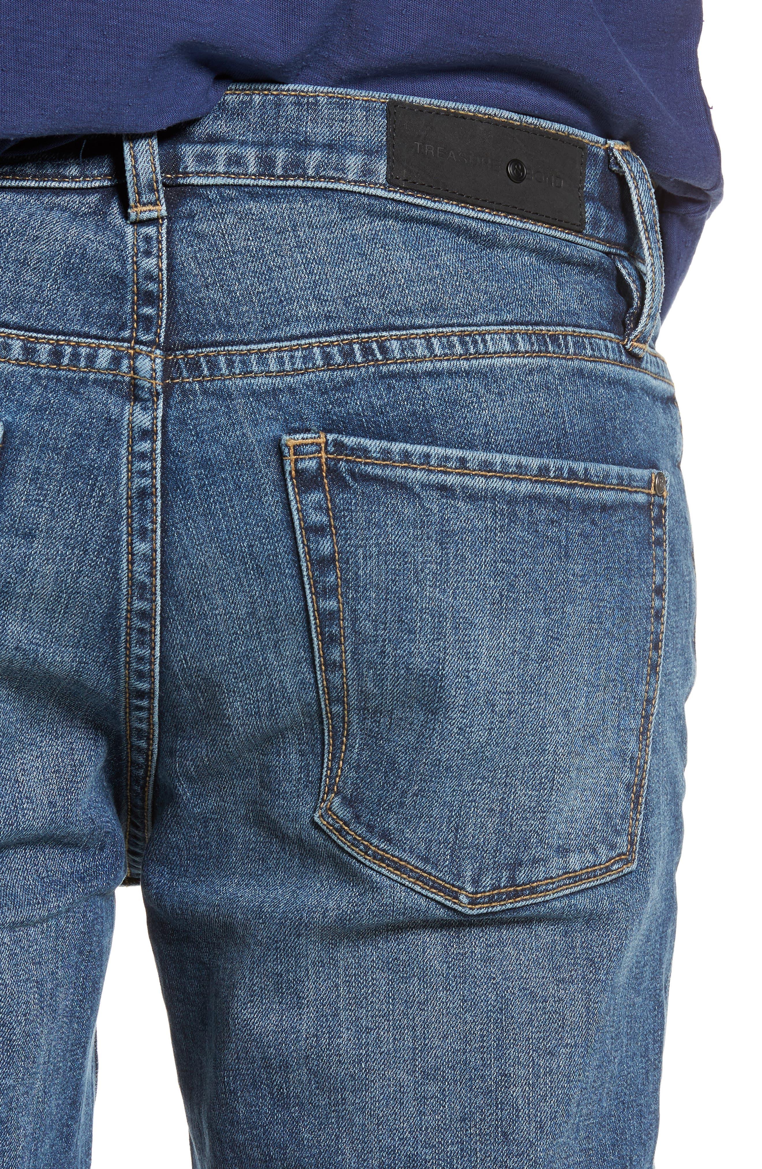 Skinny Fit Jeans,                             Alternate thumbnail 4, color,
