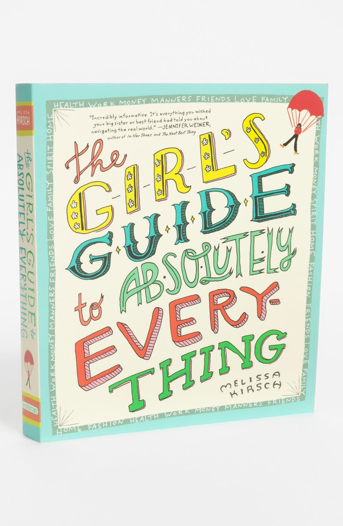 'The Girl's Guide to Absolutely Everything' Book,                             Main thumbnail 1, color,                             000