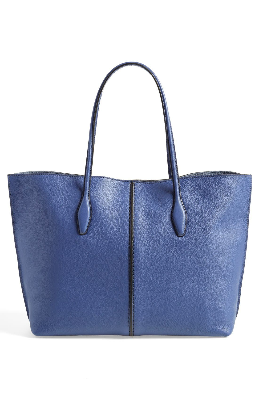 'Large Joy' Leather Tote,                             Alternate thumbnail 5, color,                             400