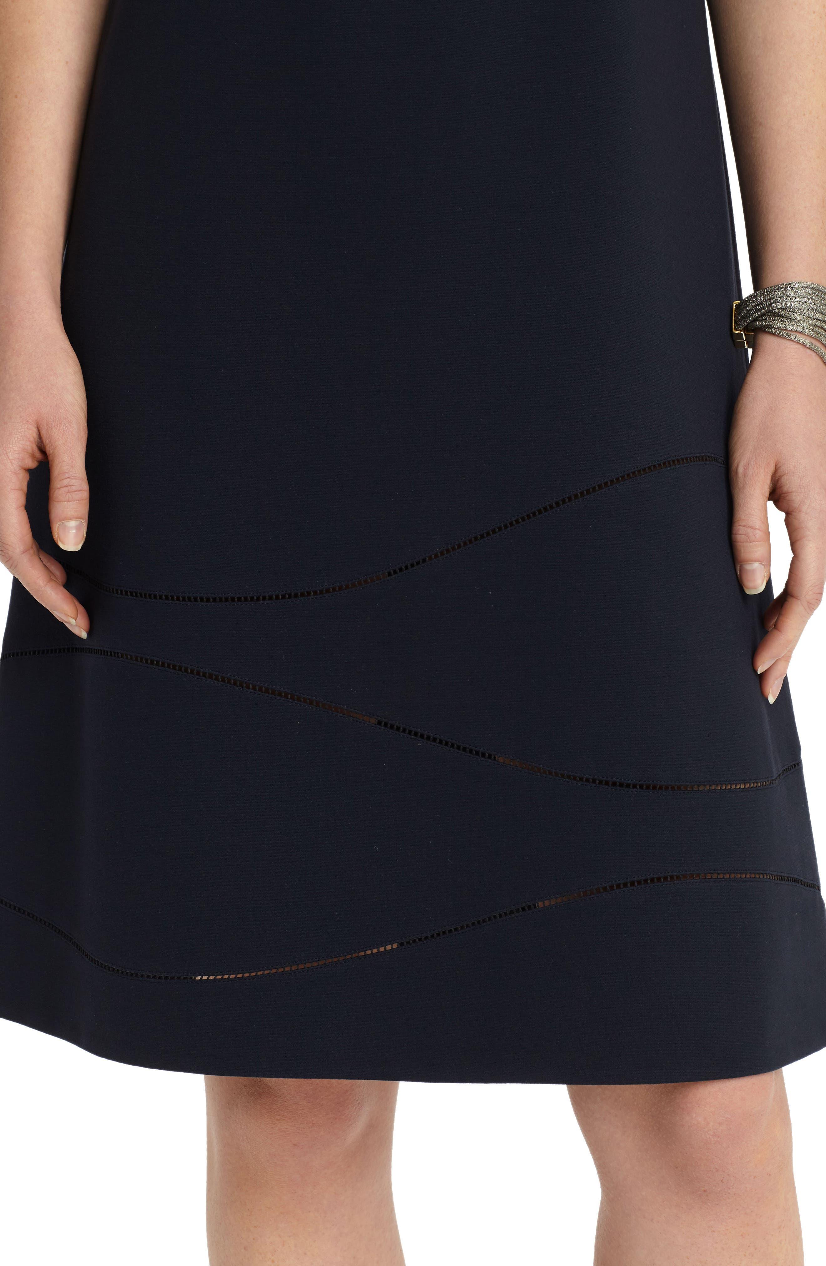 Jasmin A-Line Dress,                             Alternate thumbnail 6, color,