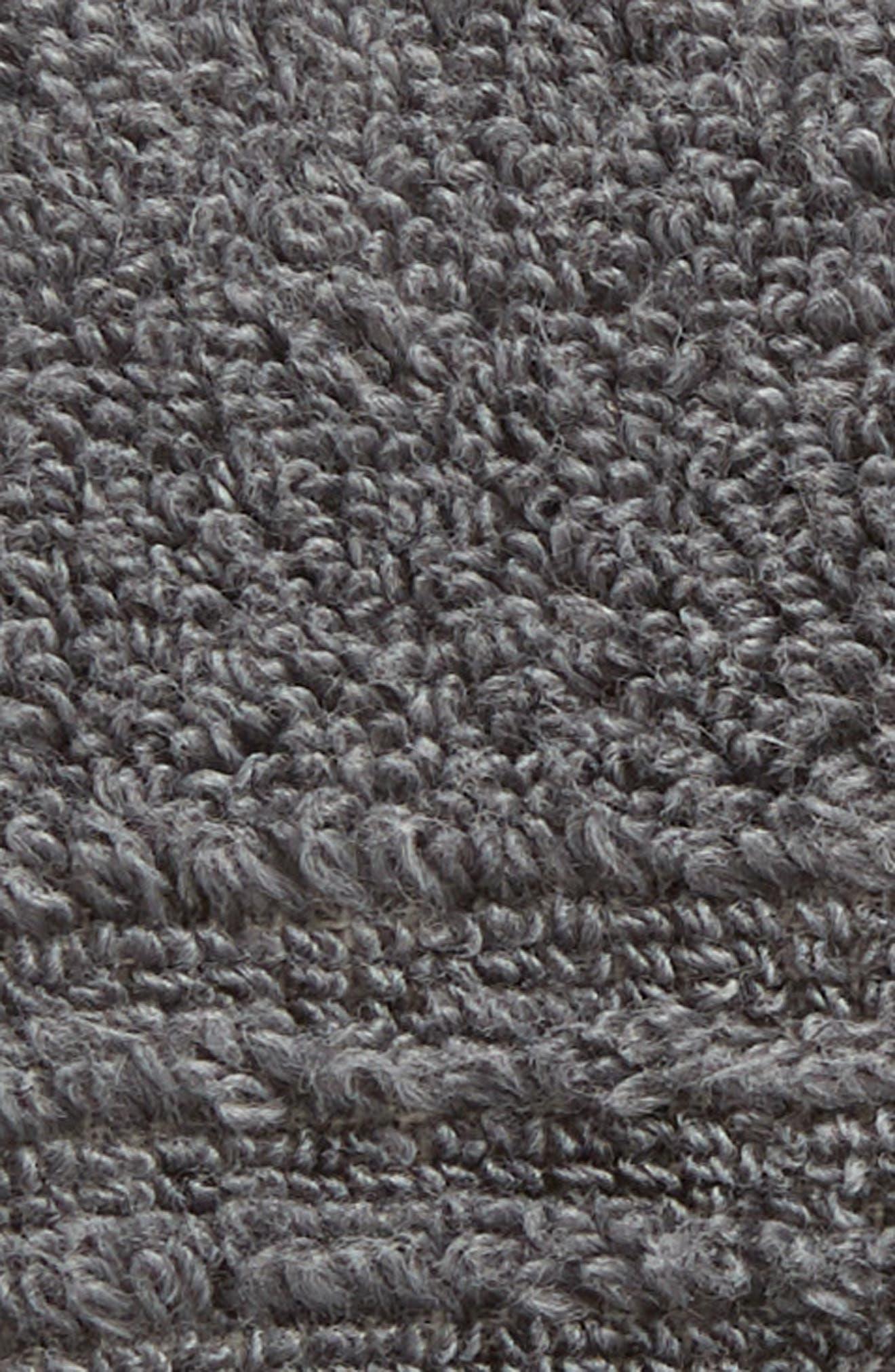 Organic Hydrocotton Washcloth,                             Alternate thumbnail 3, color,                             GREY PEARL