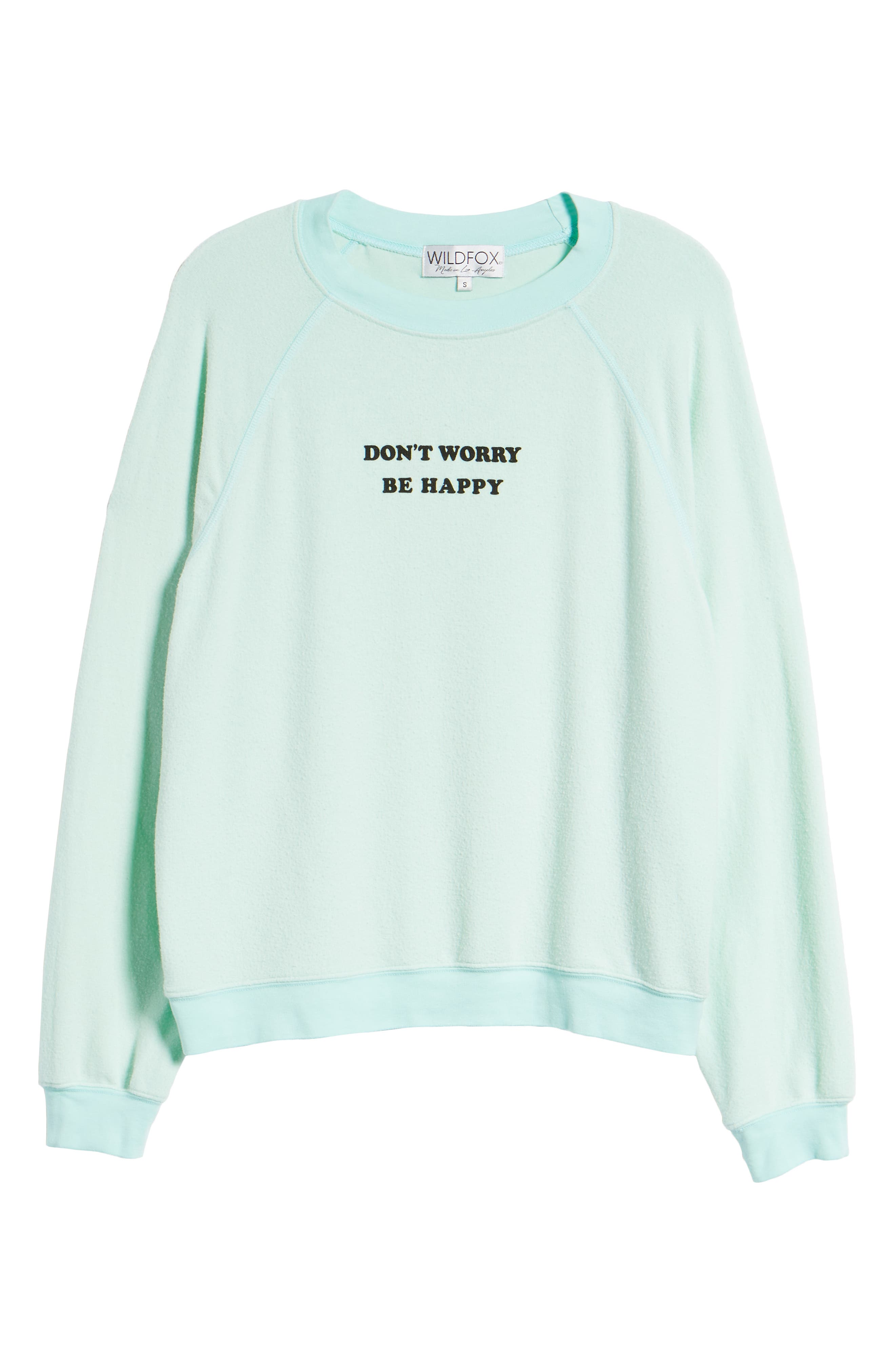 Be Happy Sweatshirt,                             Alternate thumbnail 6, color,                             440