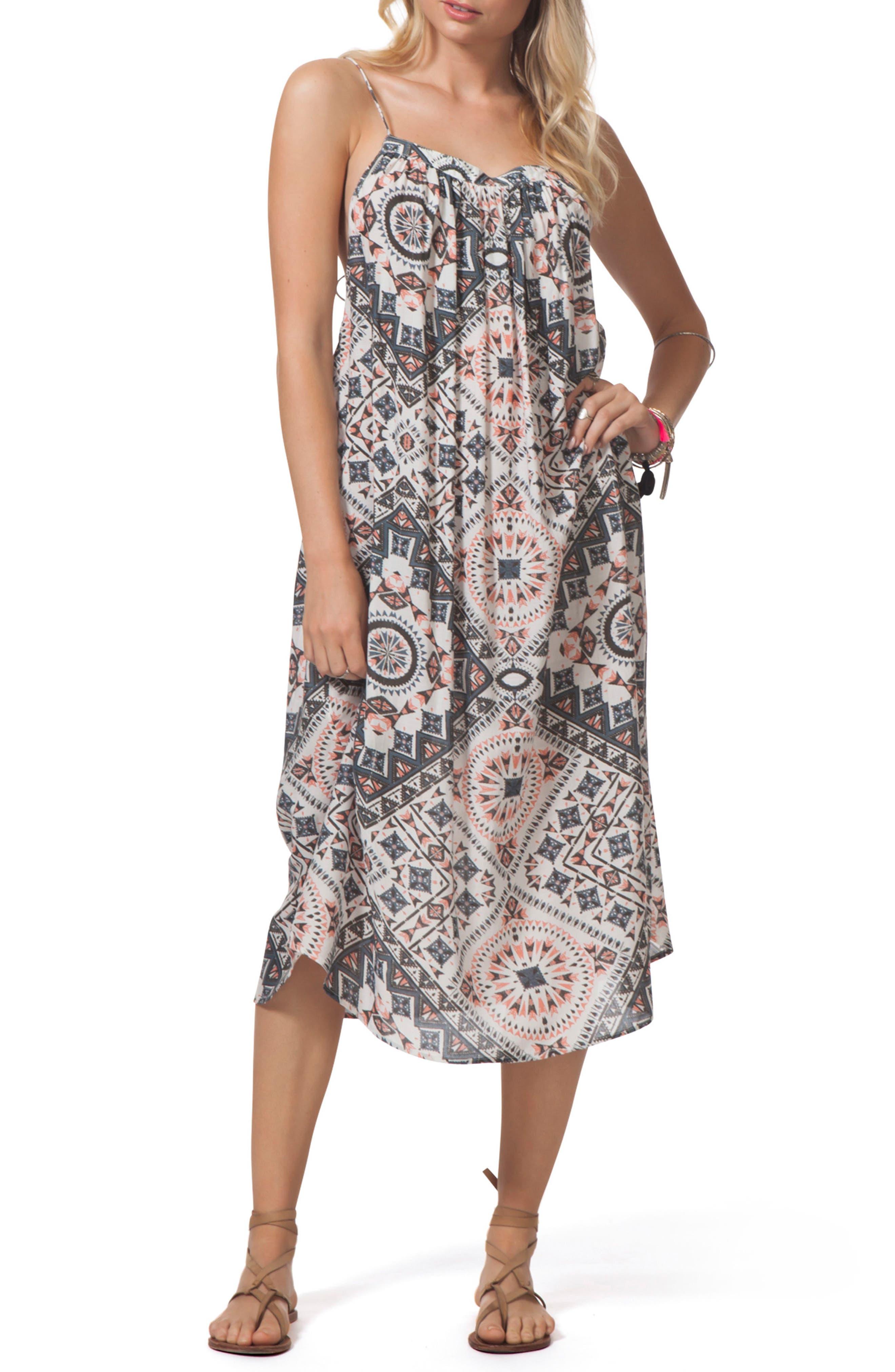 Mercury Midi Dress,                             Main thumbnail 1, color,