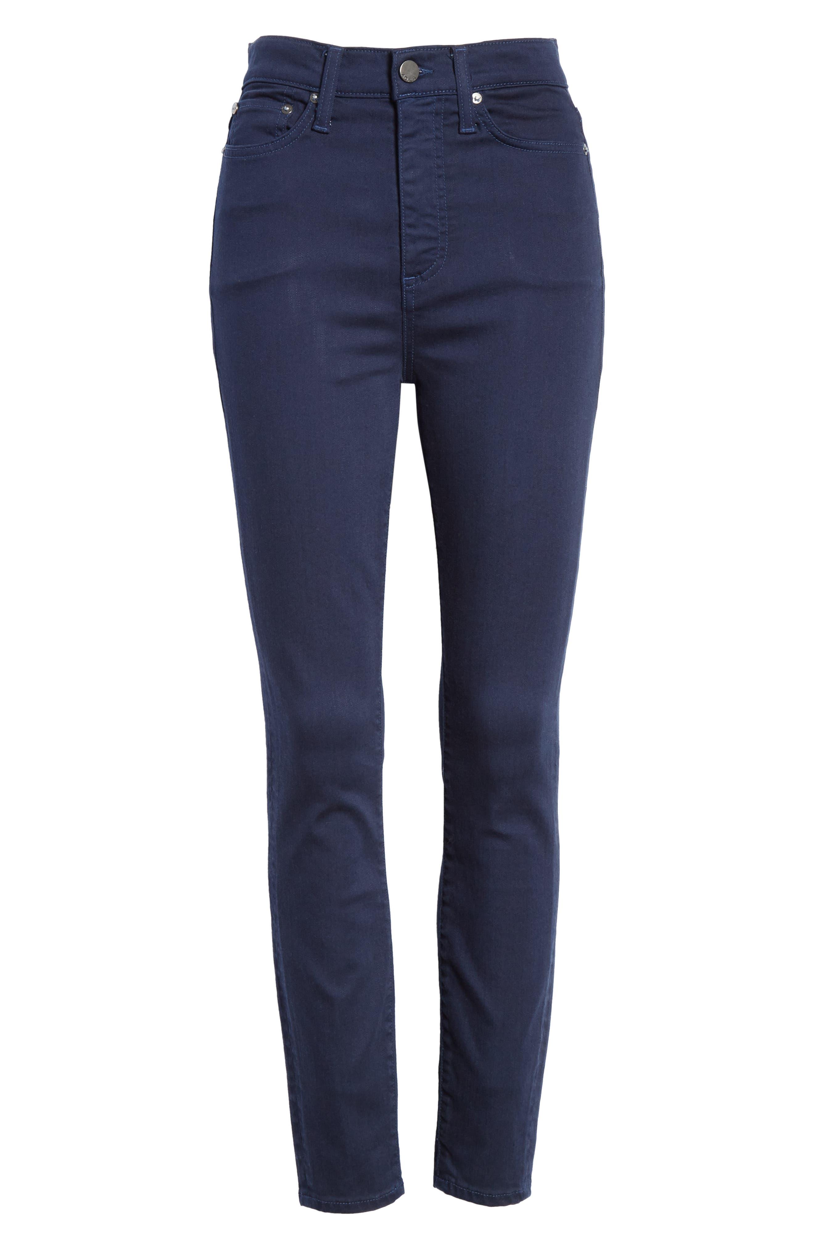 Good High Waist Skinny Jeans,                             Alternate thumbnail 6, color,                             400