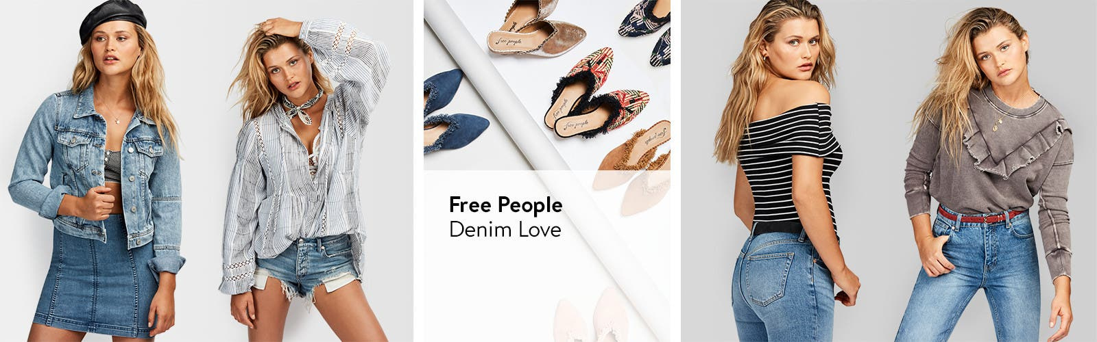Free People denim love.