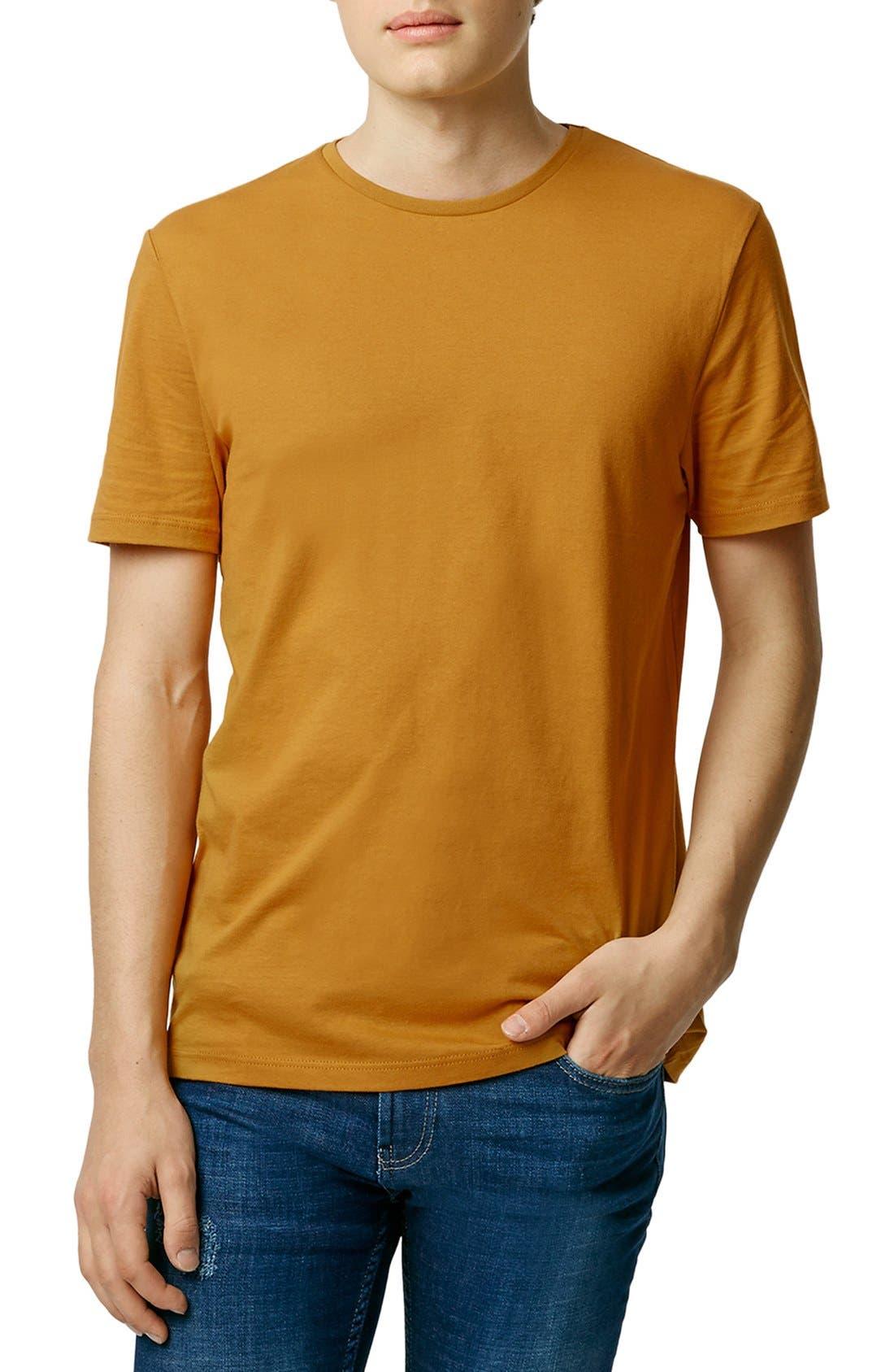Slim Fit Crewneck T-Shirt,                             Main thumbnail 91, color,