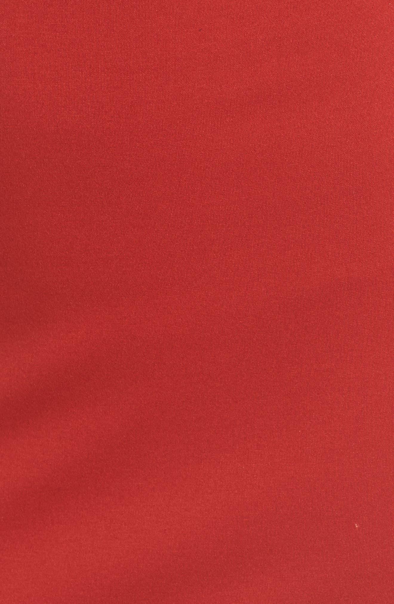 Wild Swan Body-Con Dress,                             Alternate thumbnail 5, color,                             600