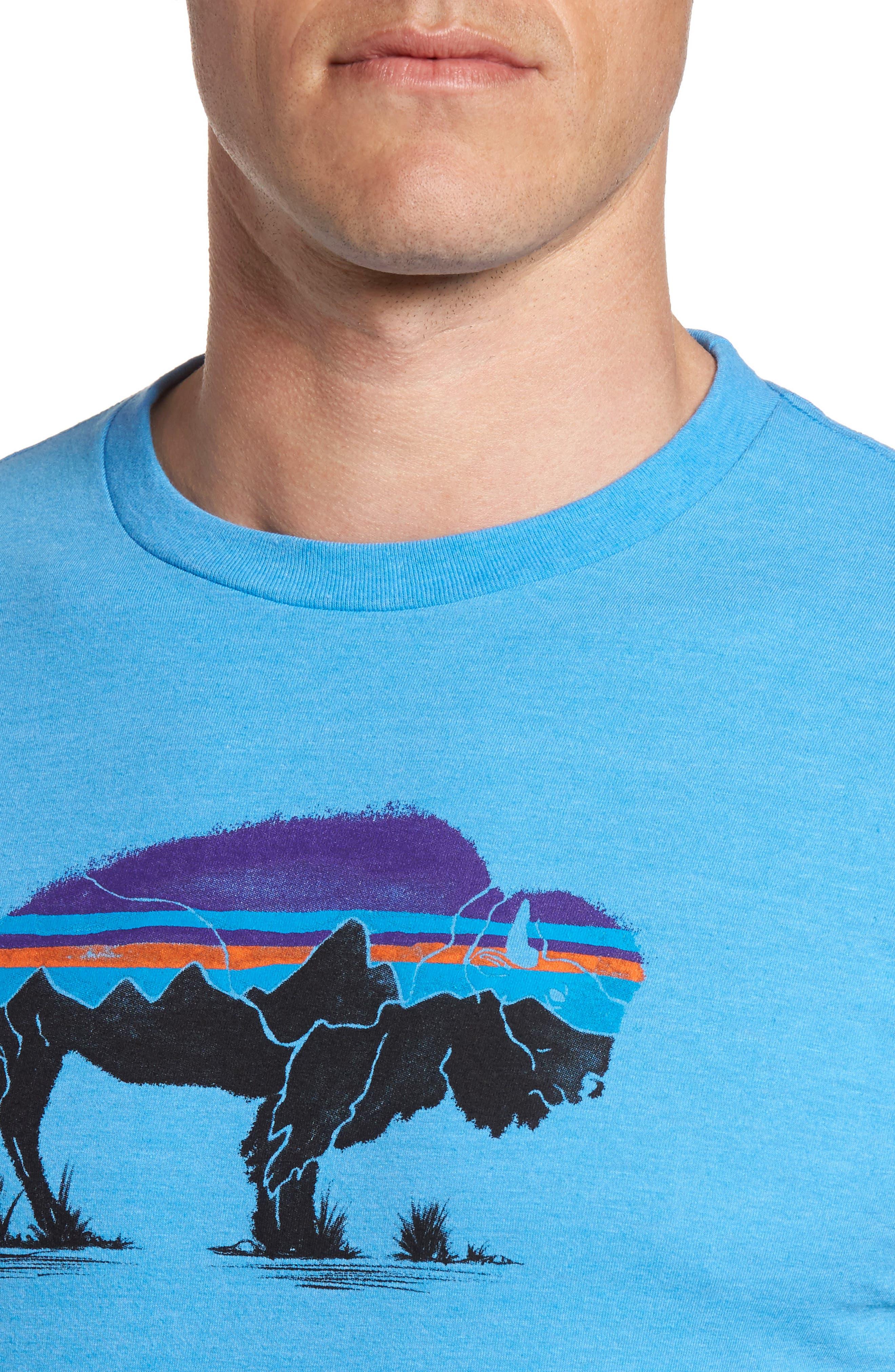 Fitz Roy Bison T-Shirt,                             Alternate thumbnail 4, color,                             400