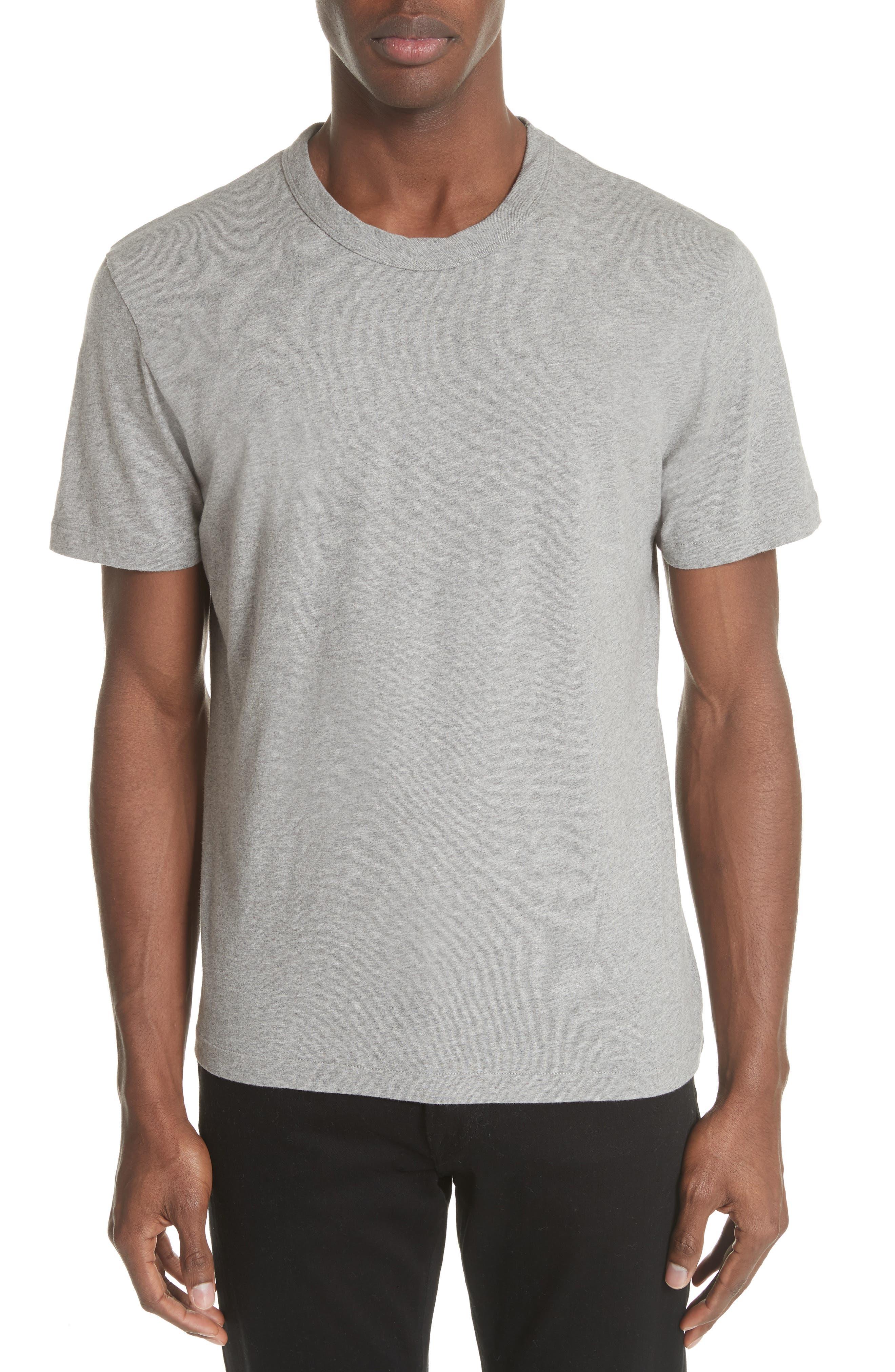 Perfect T-Shirt,                         Main,                         color, GREY MELANGE