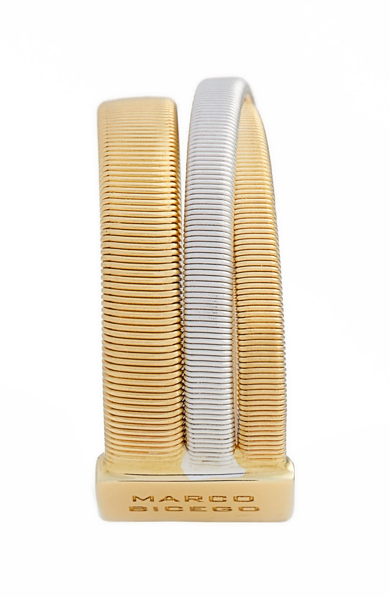 Masai Two-Tone Ring,                             Alternate thumbnail 2, color,                             YELLOW GOLD/ WHITE GOLD