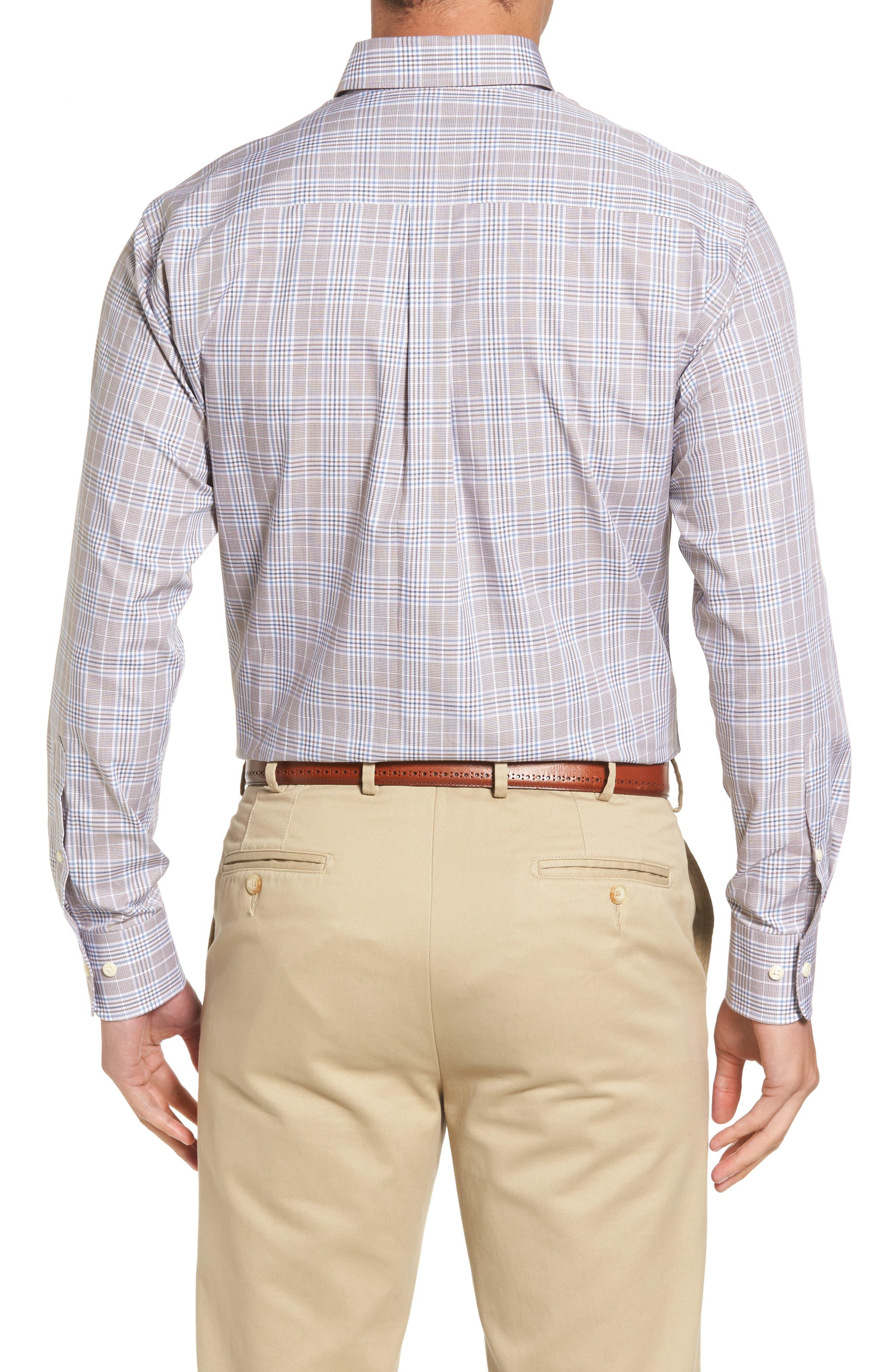 River Glen Plaid Regular Fit Sport Shirt,                             Alternate thumbnail 2, color,                             230