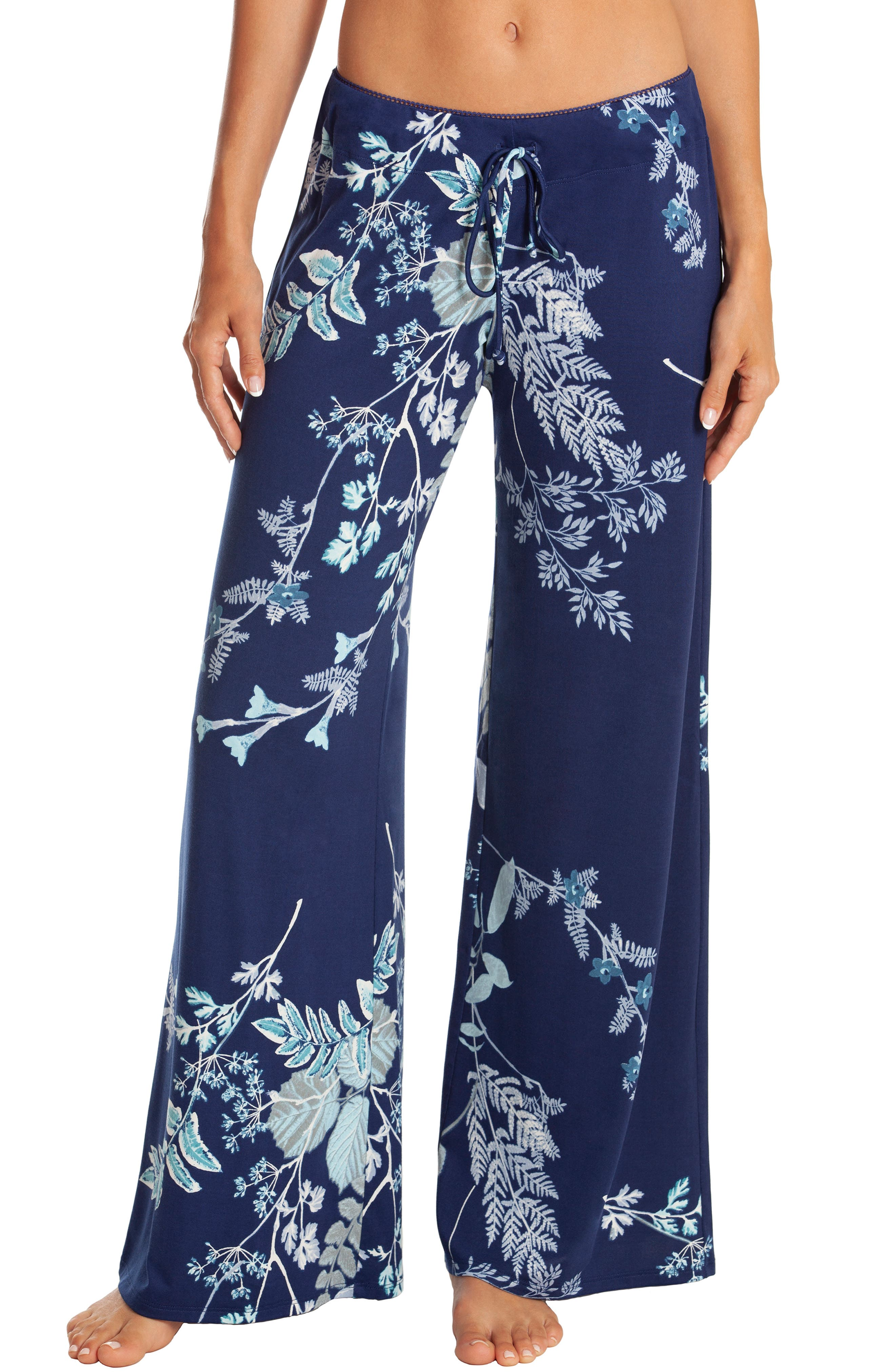 In Bloom By Jonquil Forest Pajama Pants, Blue/green