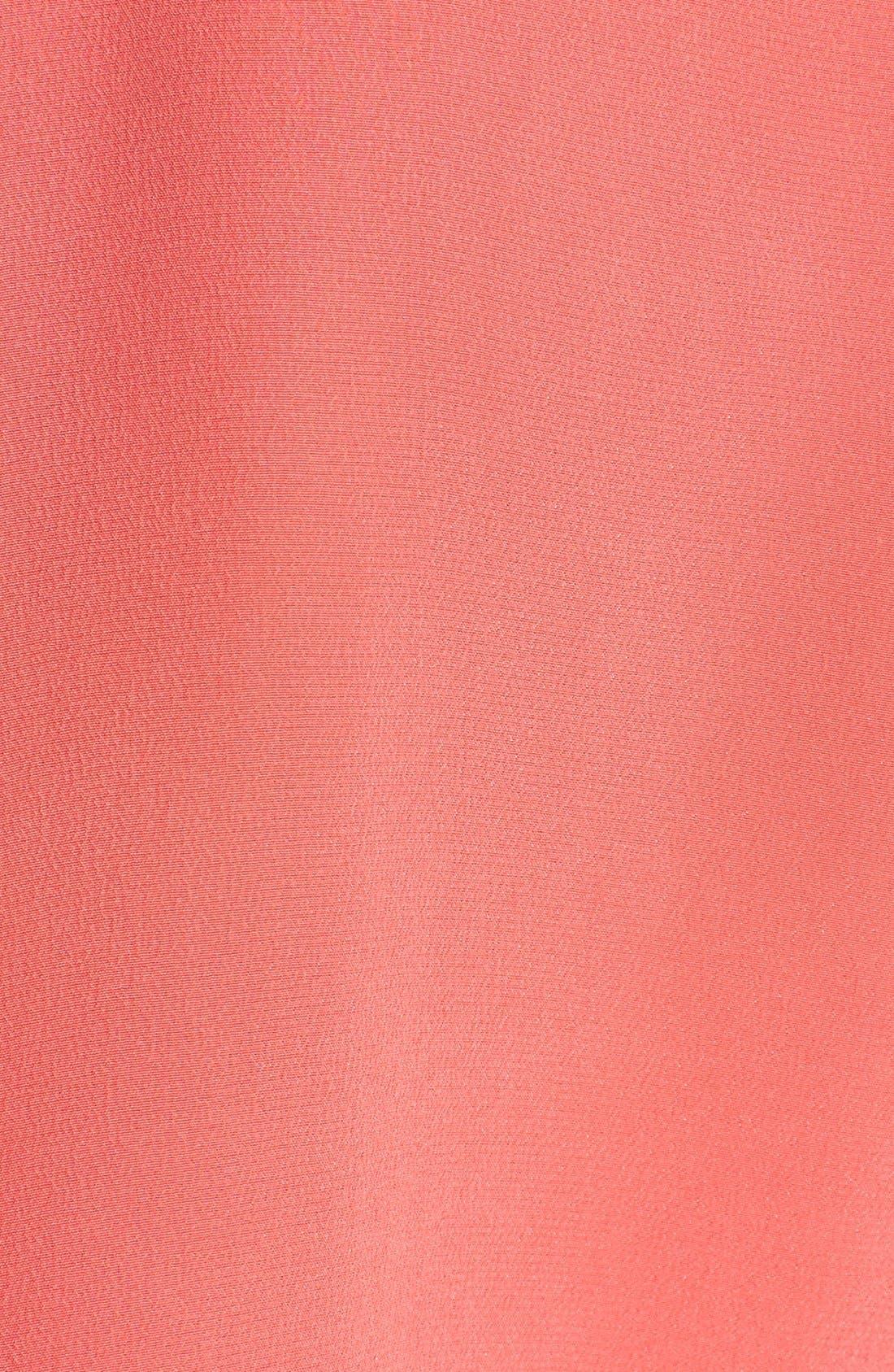 'Slim Signature' Sleeveless Silk Shirt,                             Alternate thumbnail 135, color,