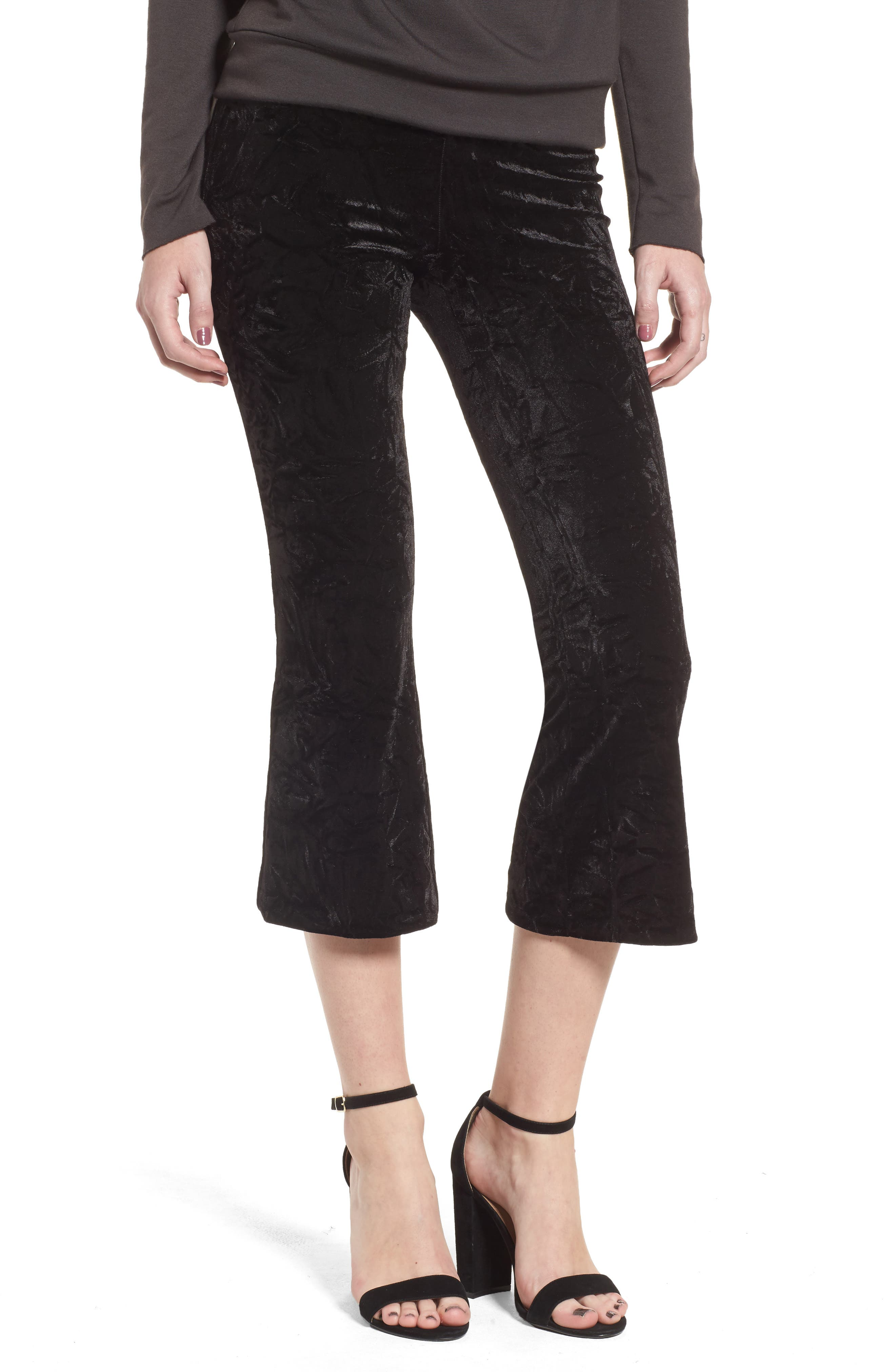 PG-13 Velvet Pants,                         Main,                         color, 001