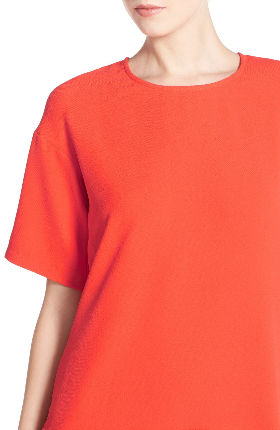 Drop Waist Knit Dress,                             Alternate thumbnail 12, color,