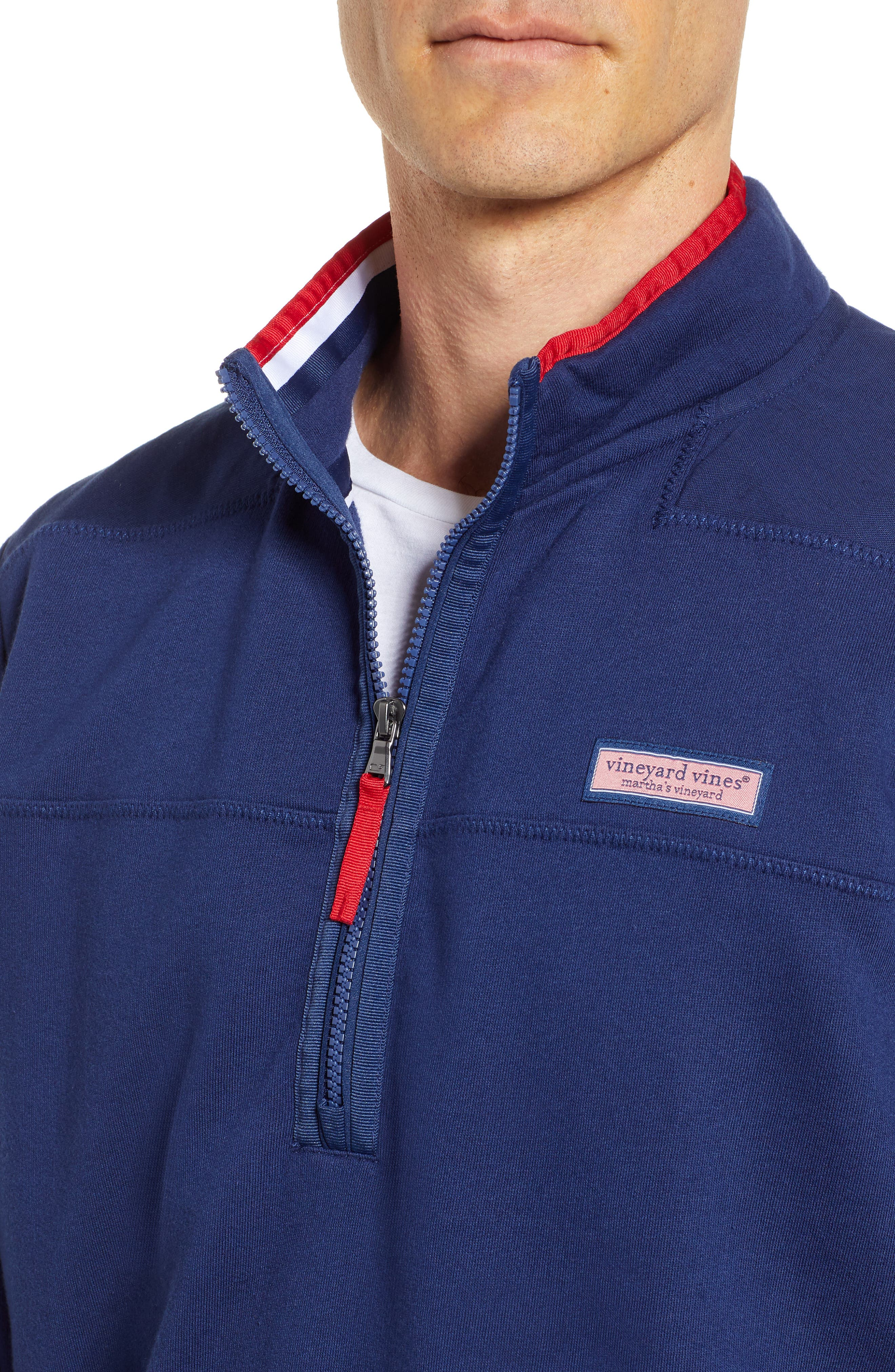 USA Shep Pullover,                             Alternate thumbnail 4, color,                             DEEP BAY