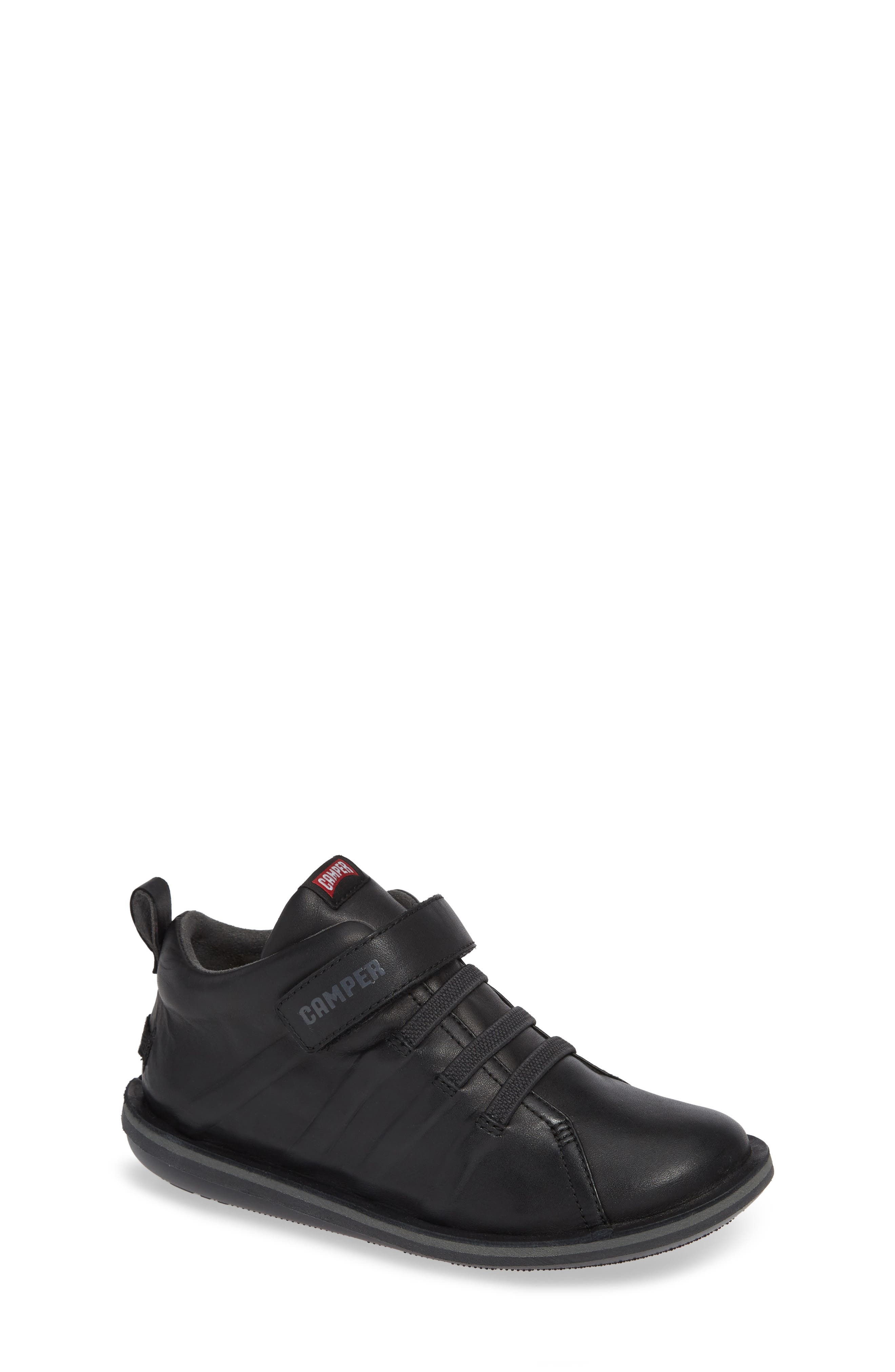 Beetle Water Resistant Sneaker,                             Main thumbnail 1, color,                             BLACK