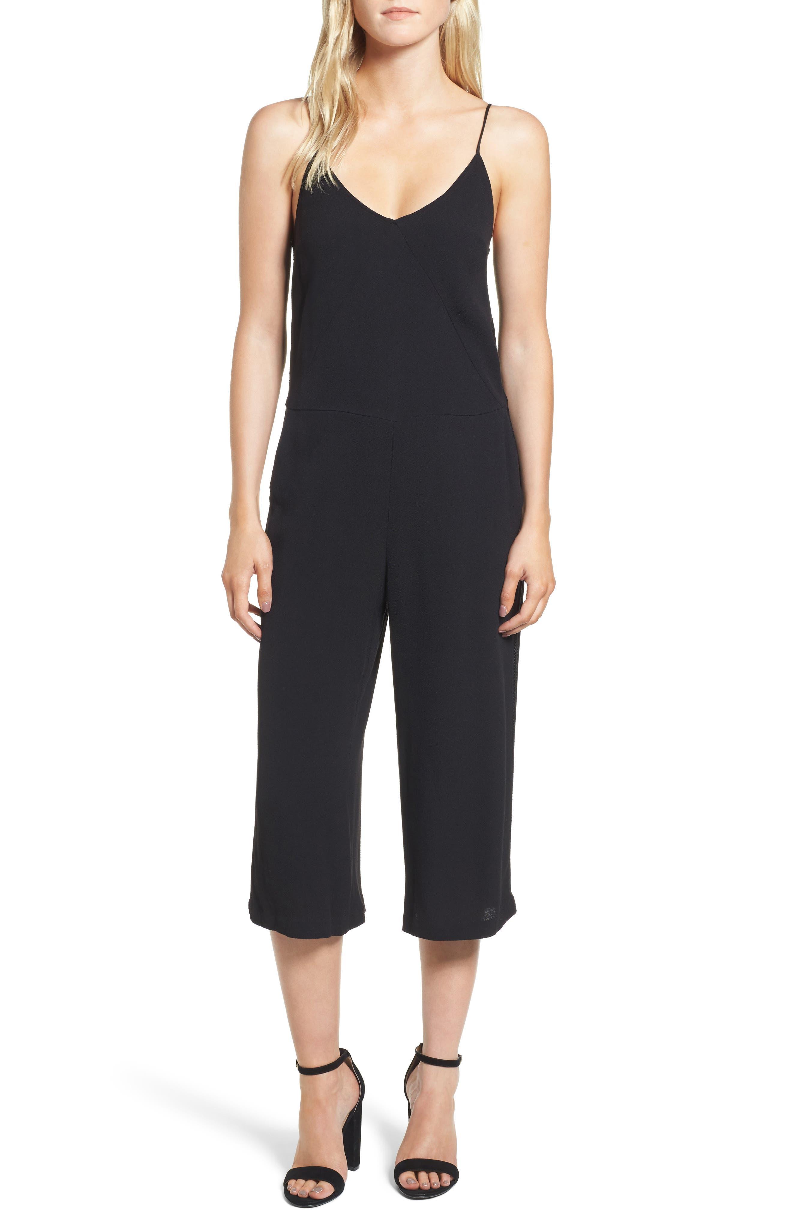 Crop Jumpsuit,                         Main,                         color, 001