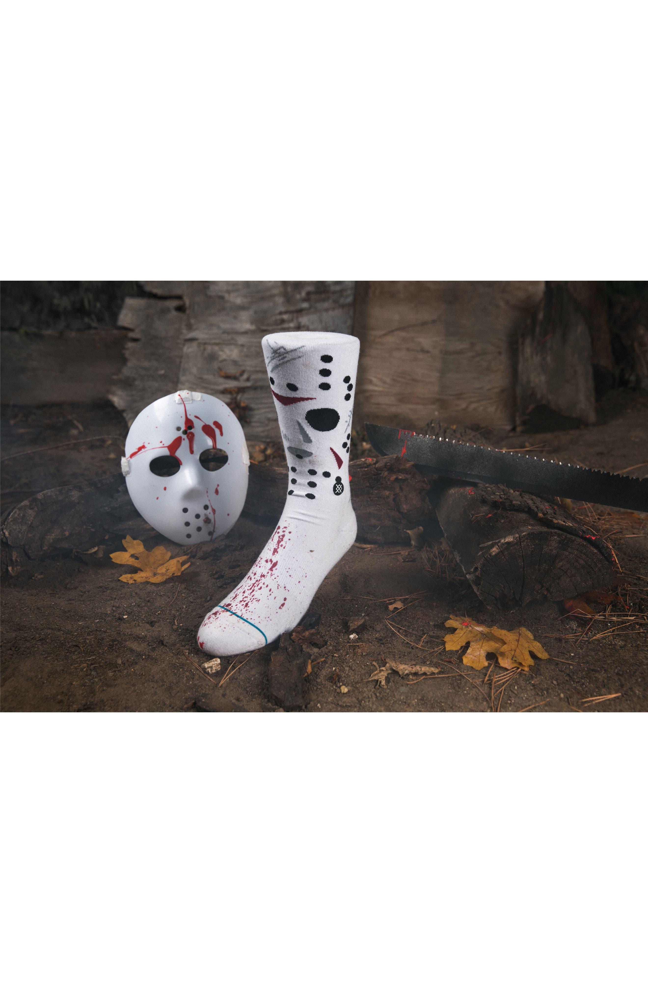 Jason - Legends of Horror Socks,                             Alternate thumbnail 4, color,                             100