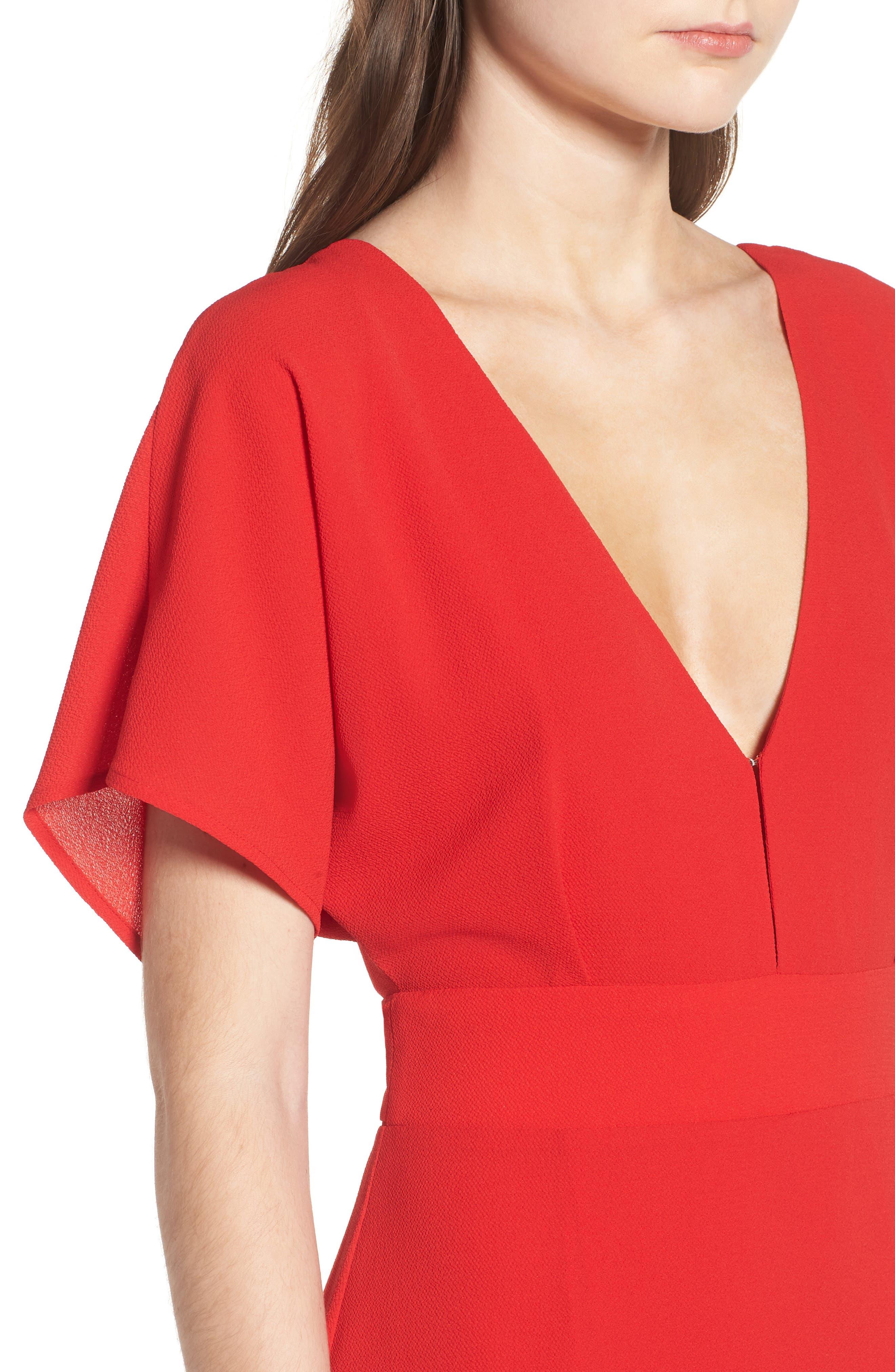 Carrara Slit Maxi Dress,                             Alternate thumbnail 8, color,