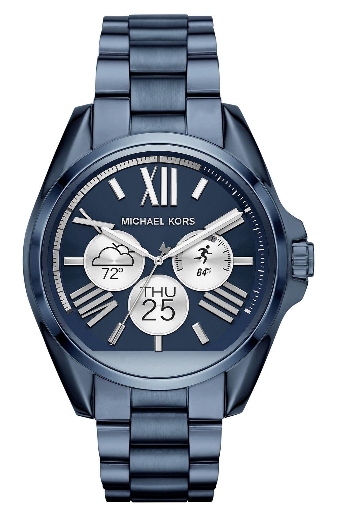 MICHAEL Michael Kors Bradshaw Access Bracelet Smart Watch, 45mm,                             Alternate thumbnail 59, color,