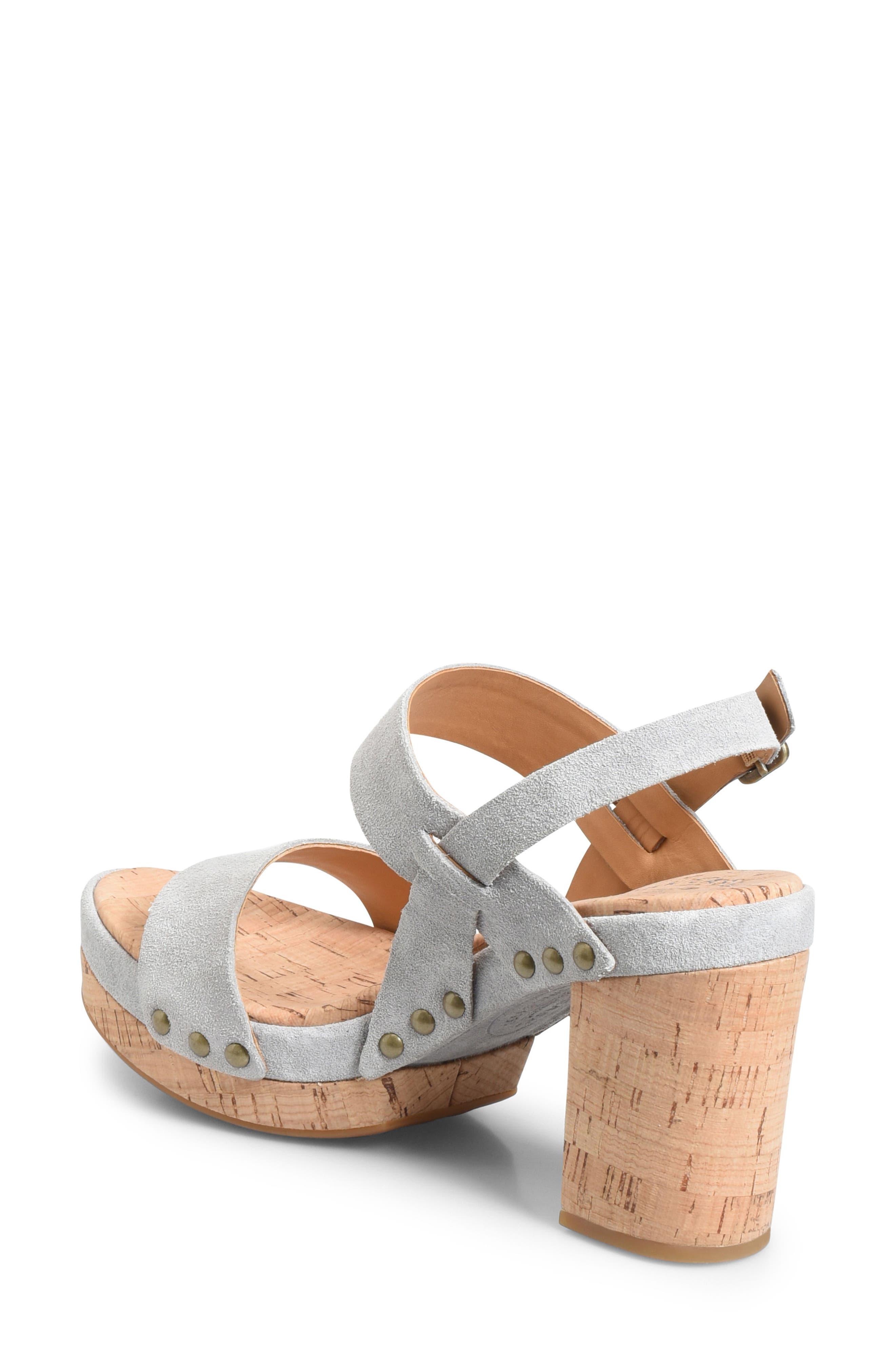 Palmdale Platform Sandal,                             Alternate thumbnail 2, color,                             GREY SUEDE