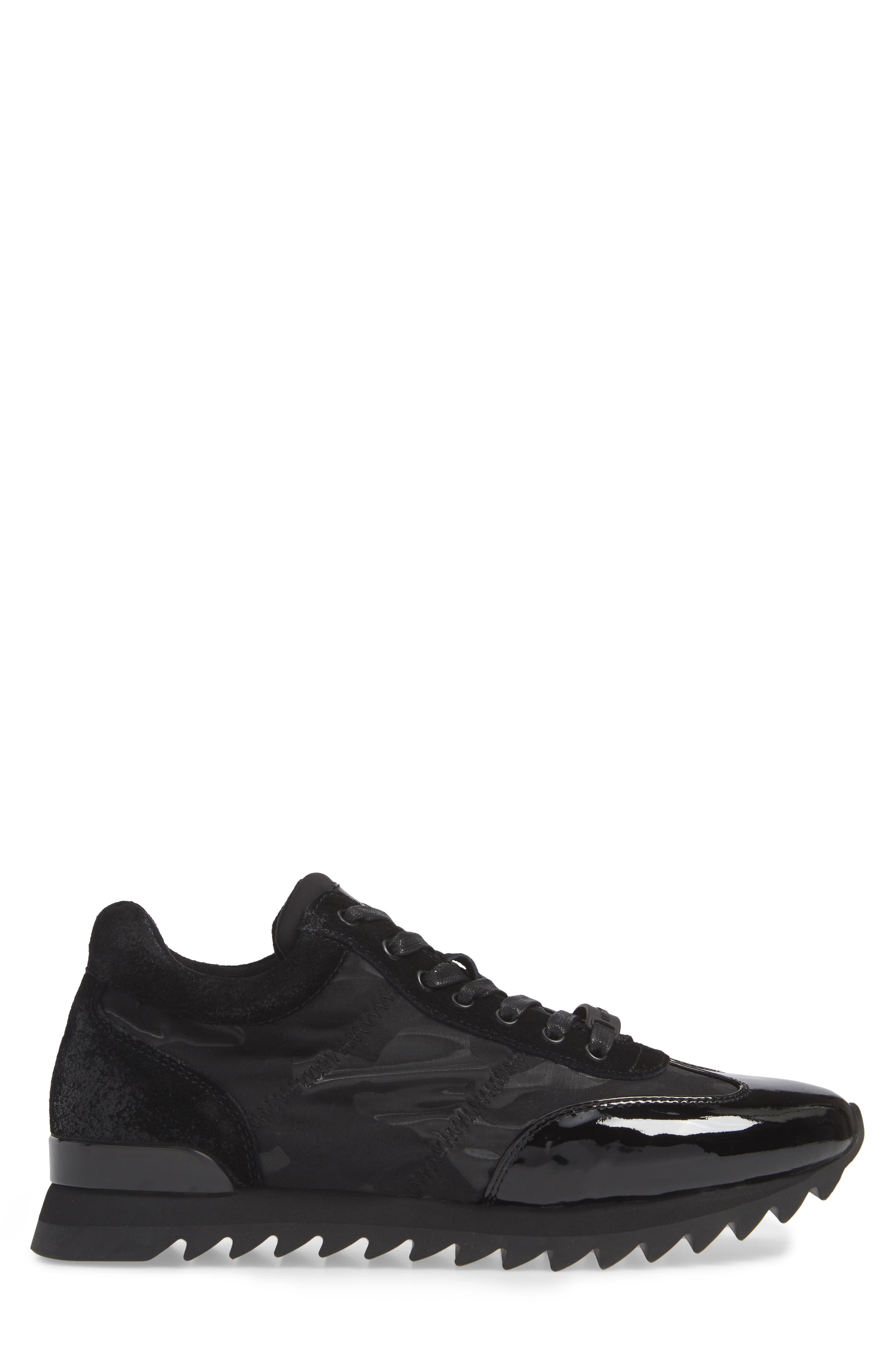 Camo Print Sneaker,                             Alternate thumbnail 3, color,                             001