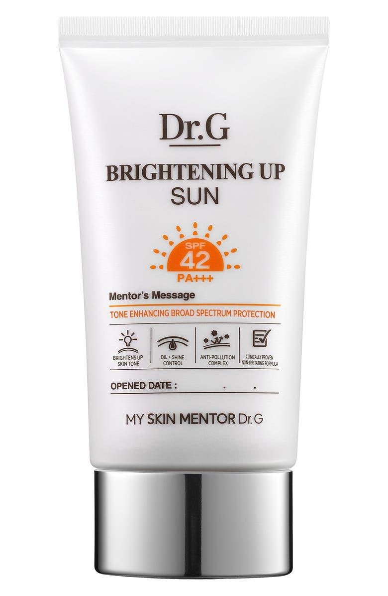 My Skin Mentor Dr. G Beauty Brightening Up Sun Cream SPF ...