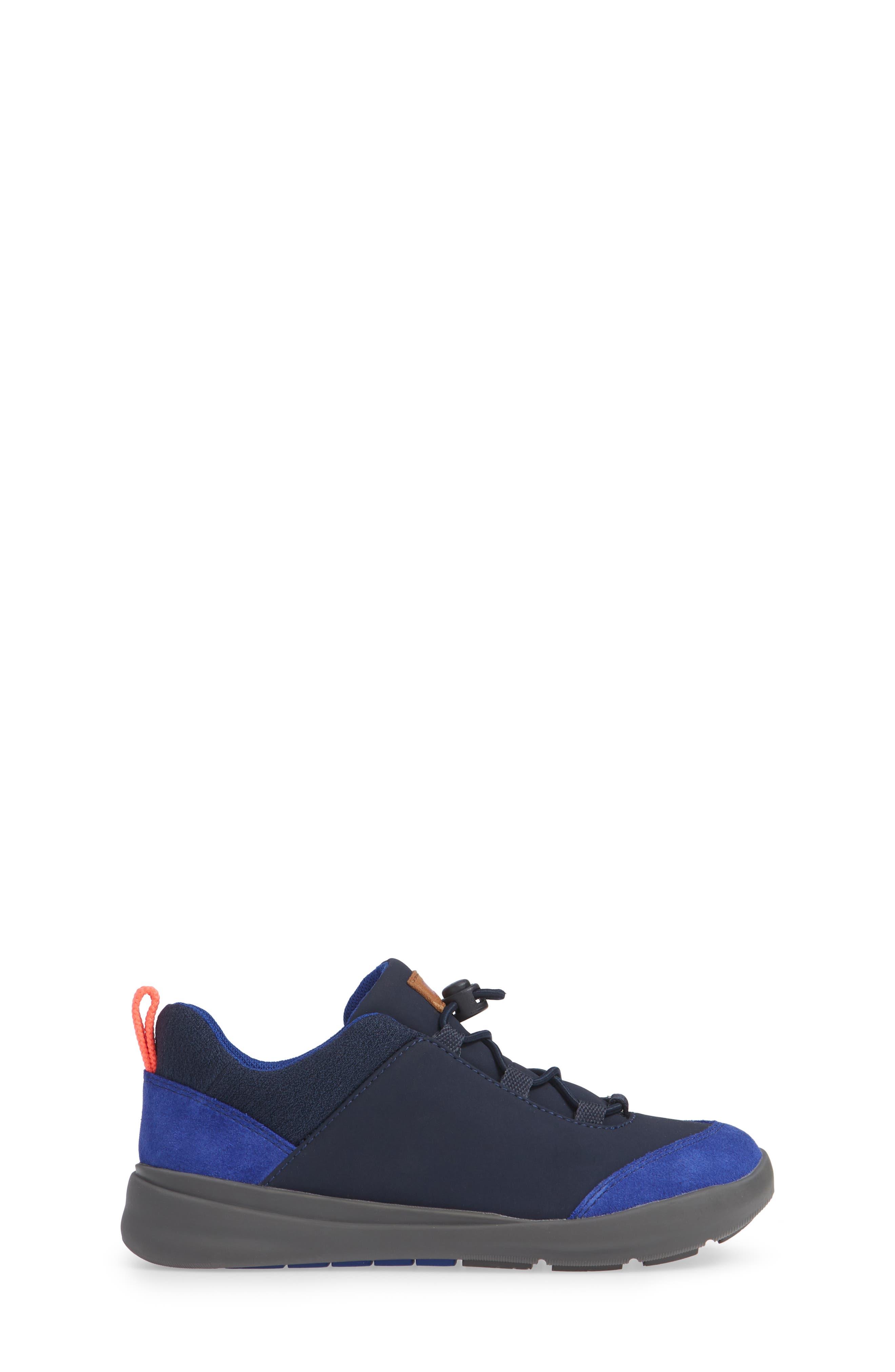 Ergo Hybrid Sneaker,                             Alternate thumbnail 3, color,                             BLUE MULTI