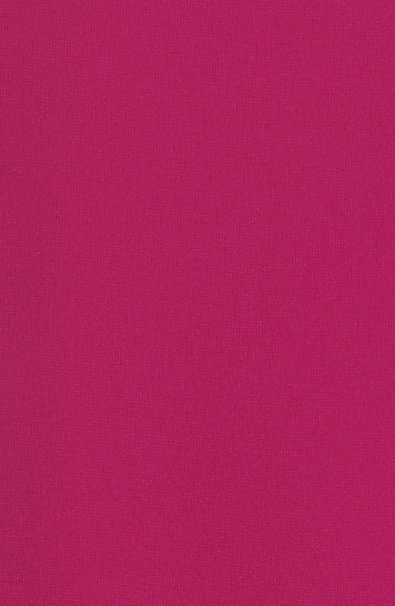 Ruffle Chiffon Shift Dress,                             Alternate thumbnail 6, color,                             678