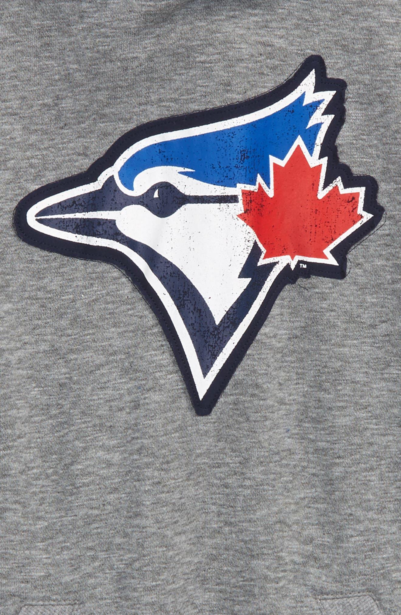 New Beginnings - Toronto Blue Jays Pullover Hoodie,                             Alternate thumbnail 2, color,