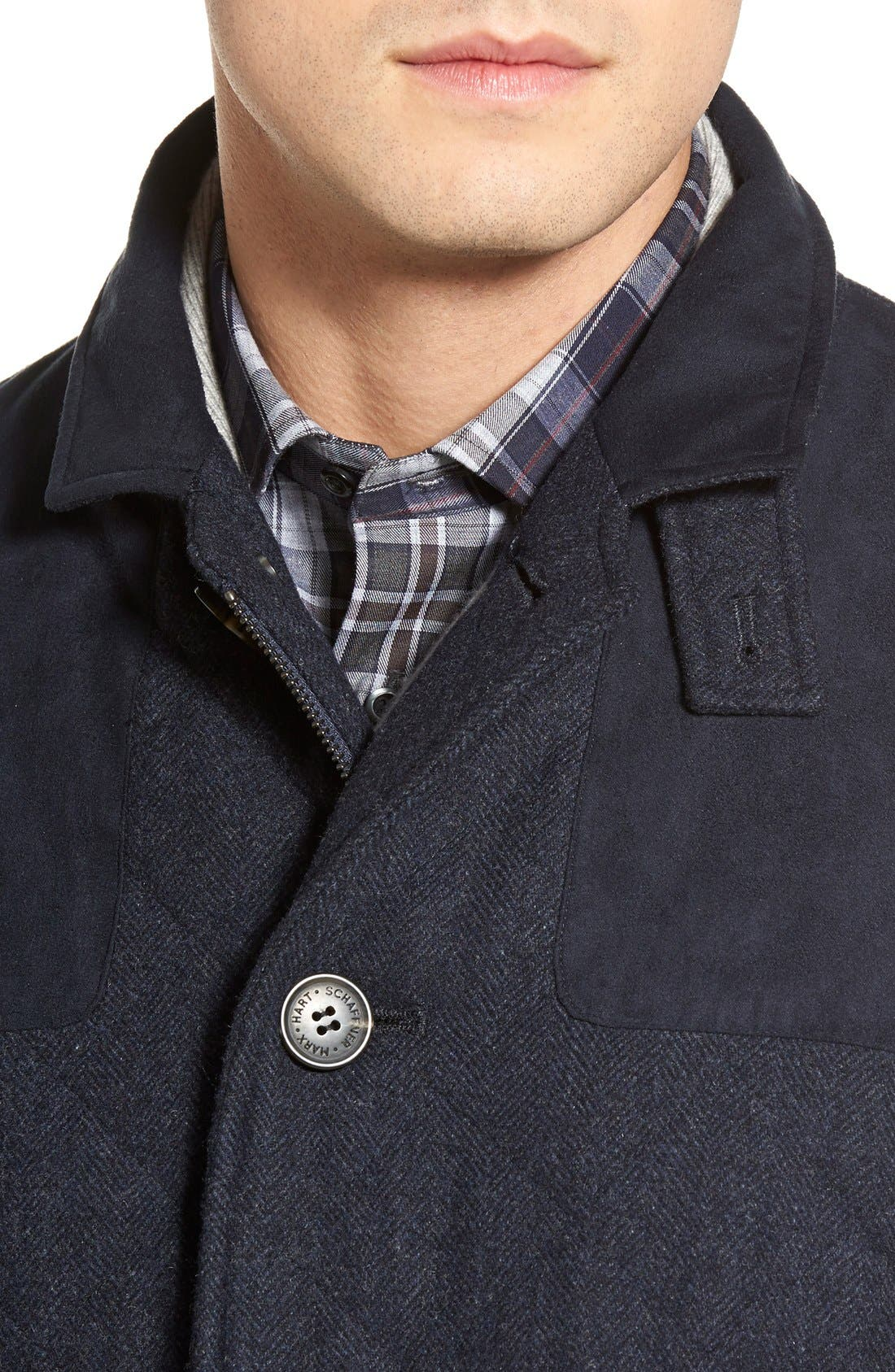 'Shooter' Wool Blend Quilted Jacket,                             Alternate thumbnail 12, color,