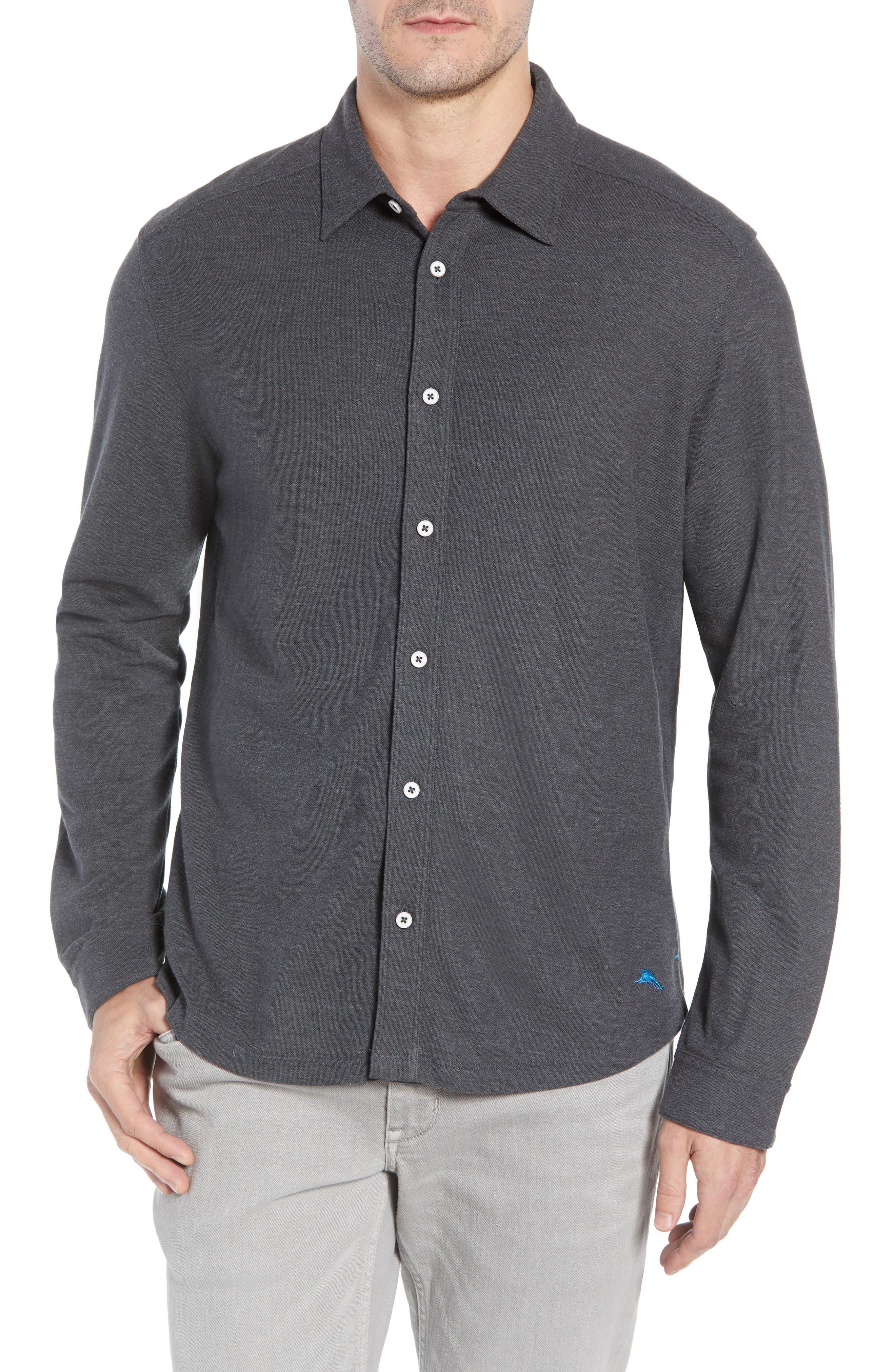 LA Vista Tropicool Regular Fit Sport Shirt,                         Main,                         color, 050