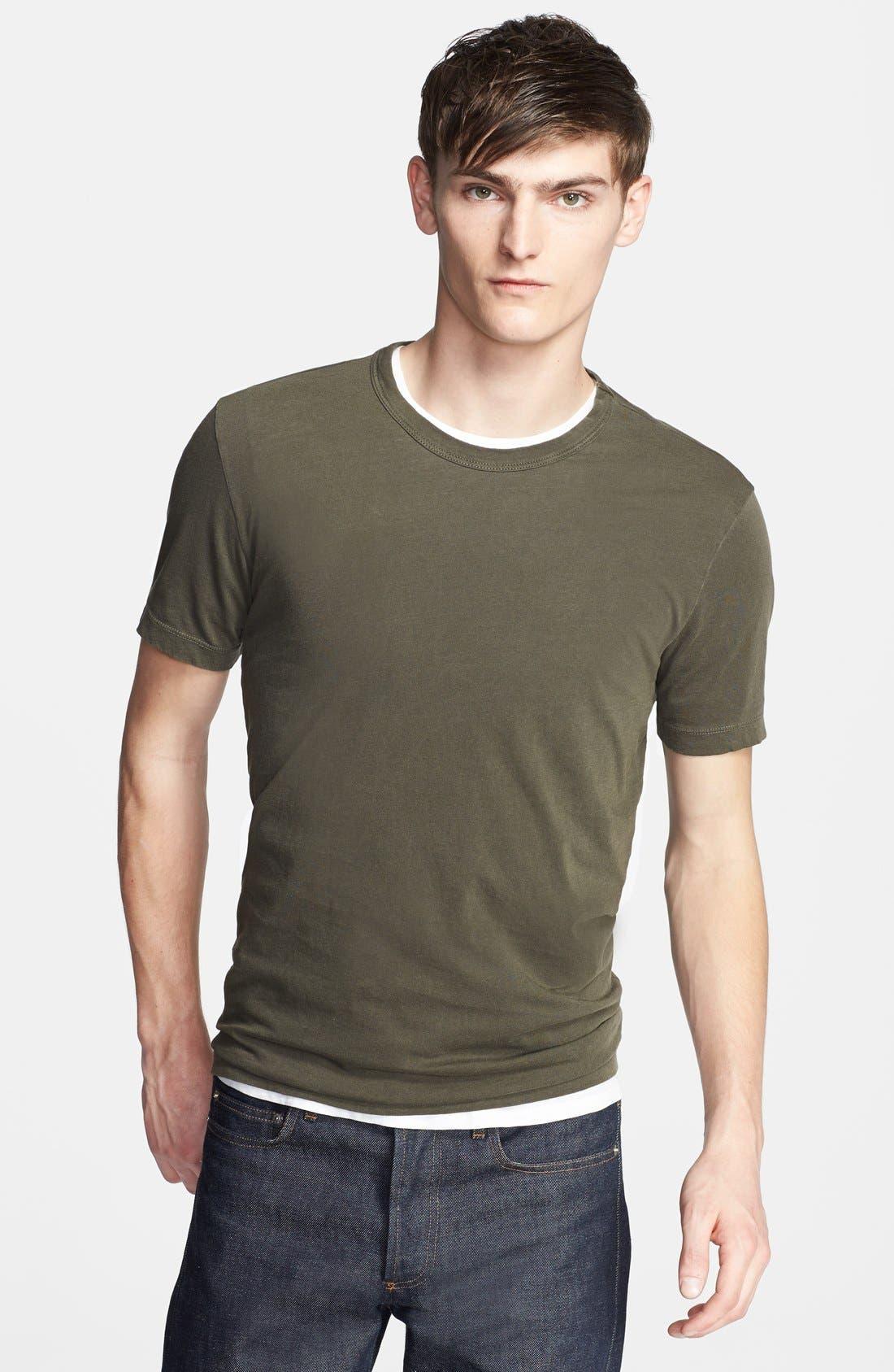 Crewneck Jersey T-Shirt,                             Main thumbnail 64, color,