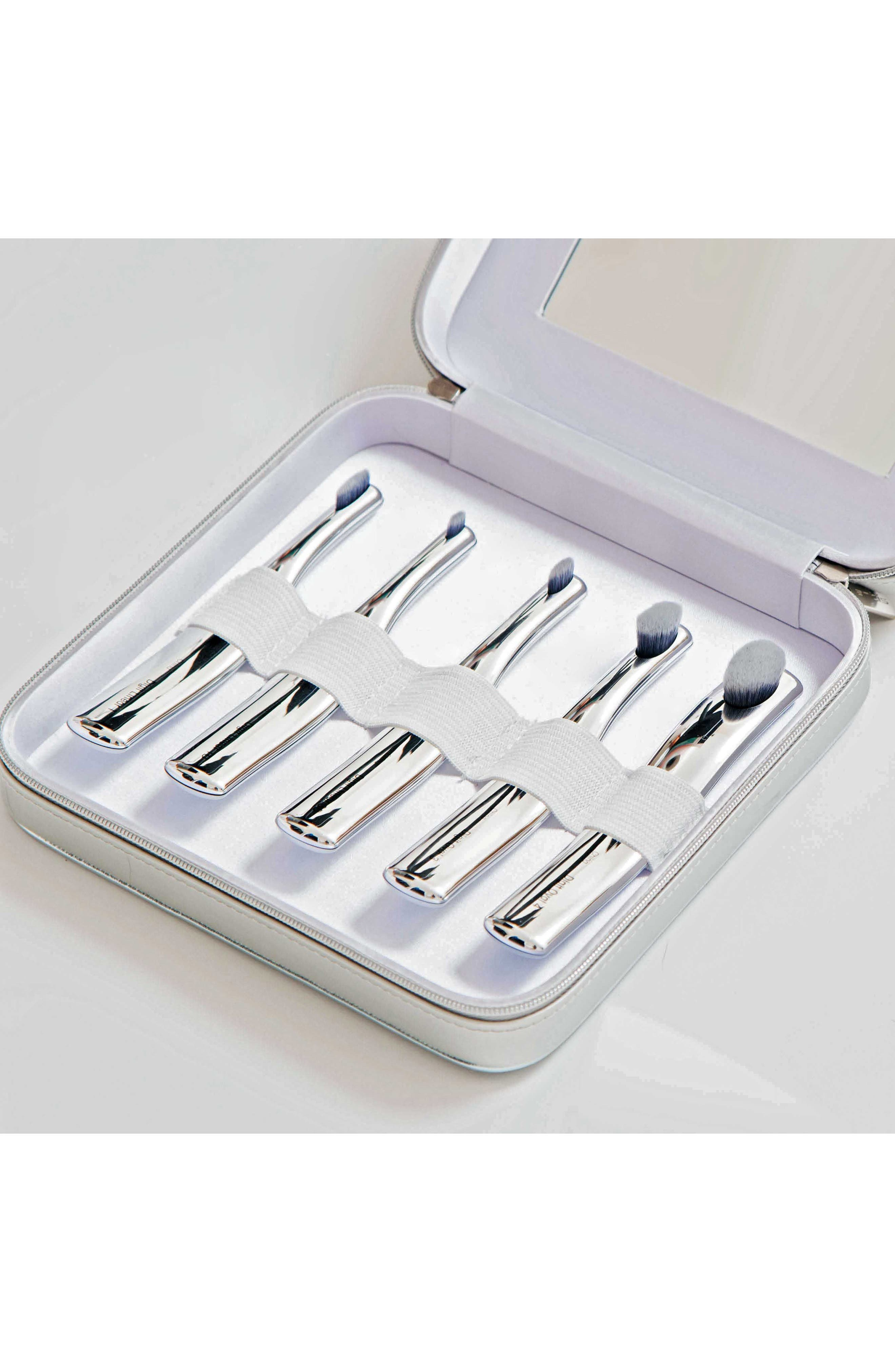 The Digit 5-Brush Set in Luxury Case,                             Main thumbnail 1, color,                             NO COLOR